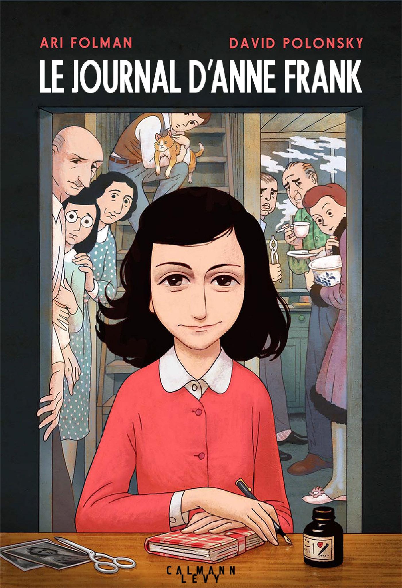 Le Journal d'Anne Frank - Roman graphique |