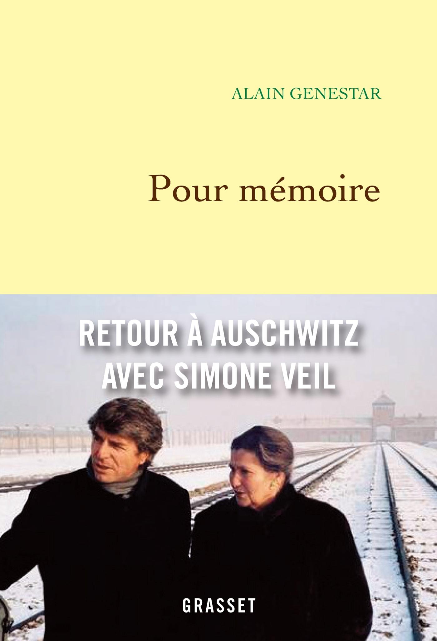 Pour mémoire | Genestar, Alain. Auteur