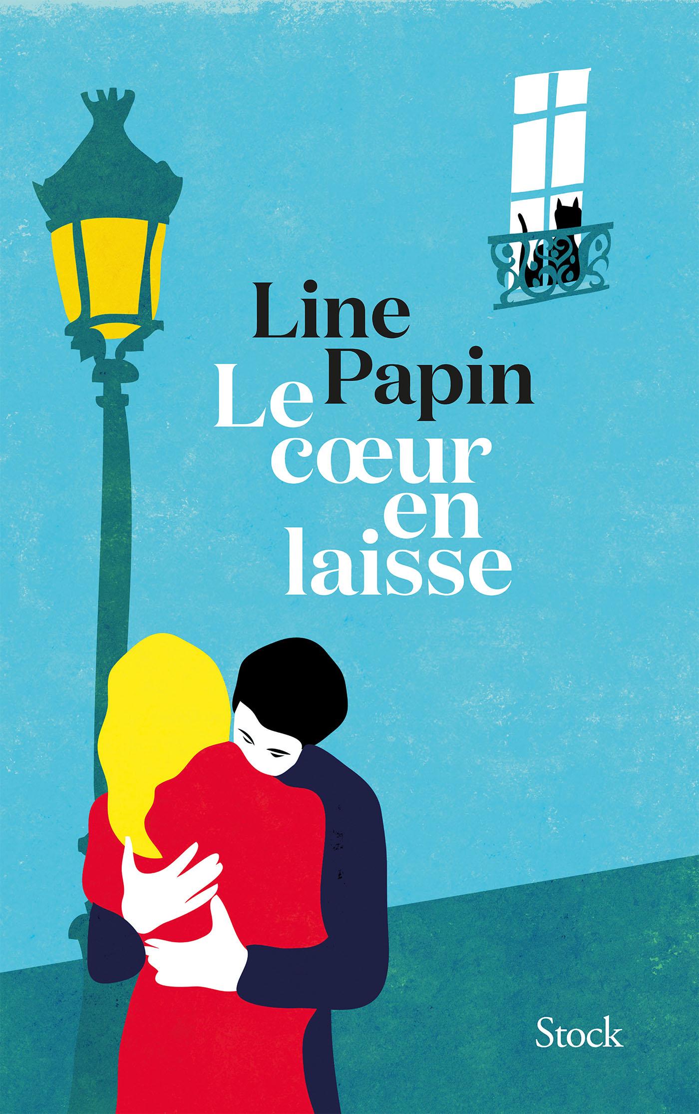 Le coeur en laisse | Papin, Line. Auteur