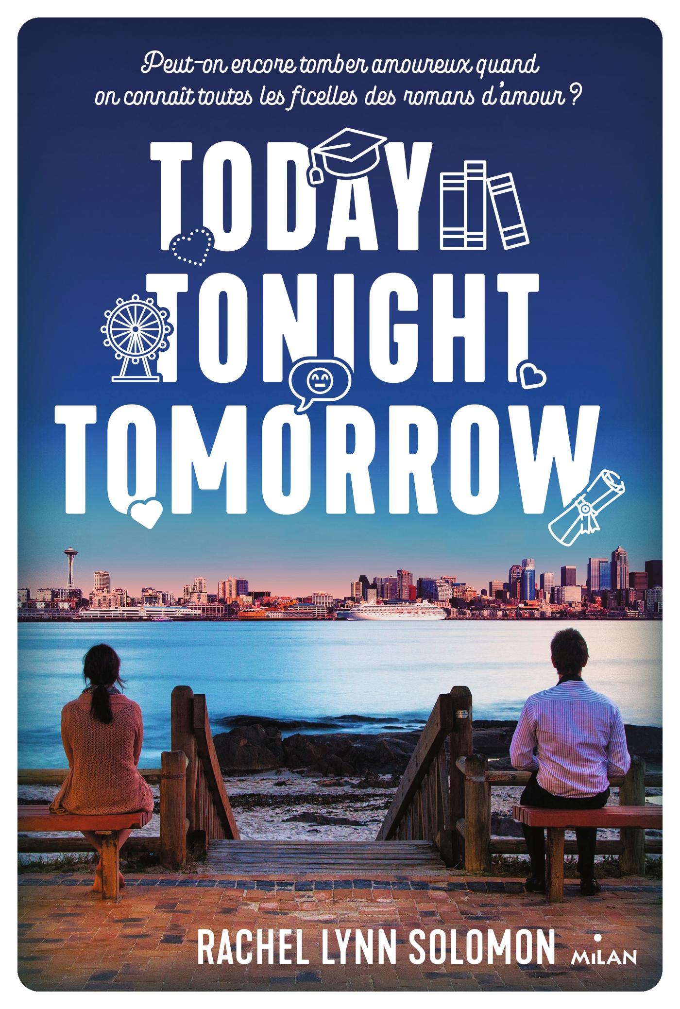 Today, tonight, tomorrow |