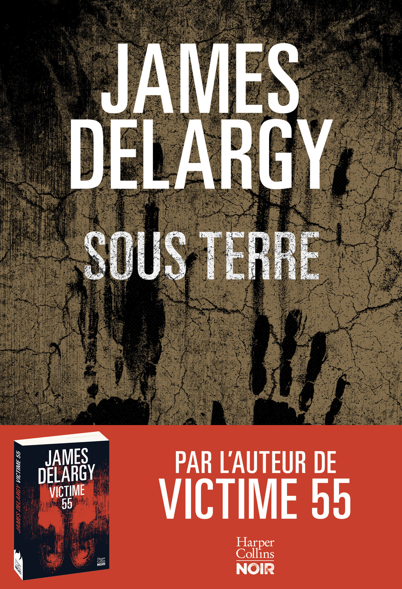 Sous terre | Delargy, James. Auteur