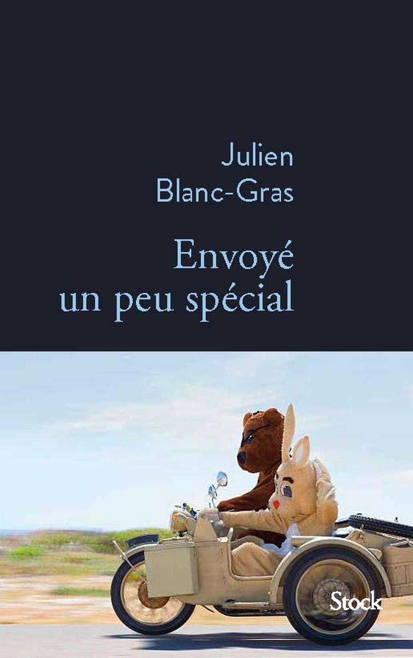 Envoyé un peu spécial | Blanc-Gras, Julien. Auteur
