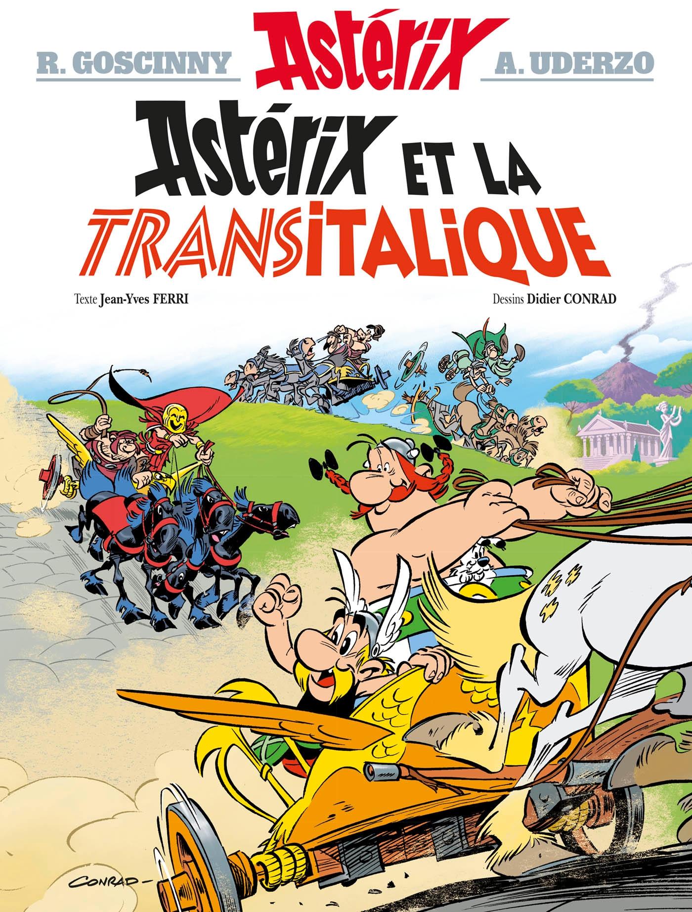 Cover image (Astérix  - Astérix et la Transitalique - n°37)