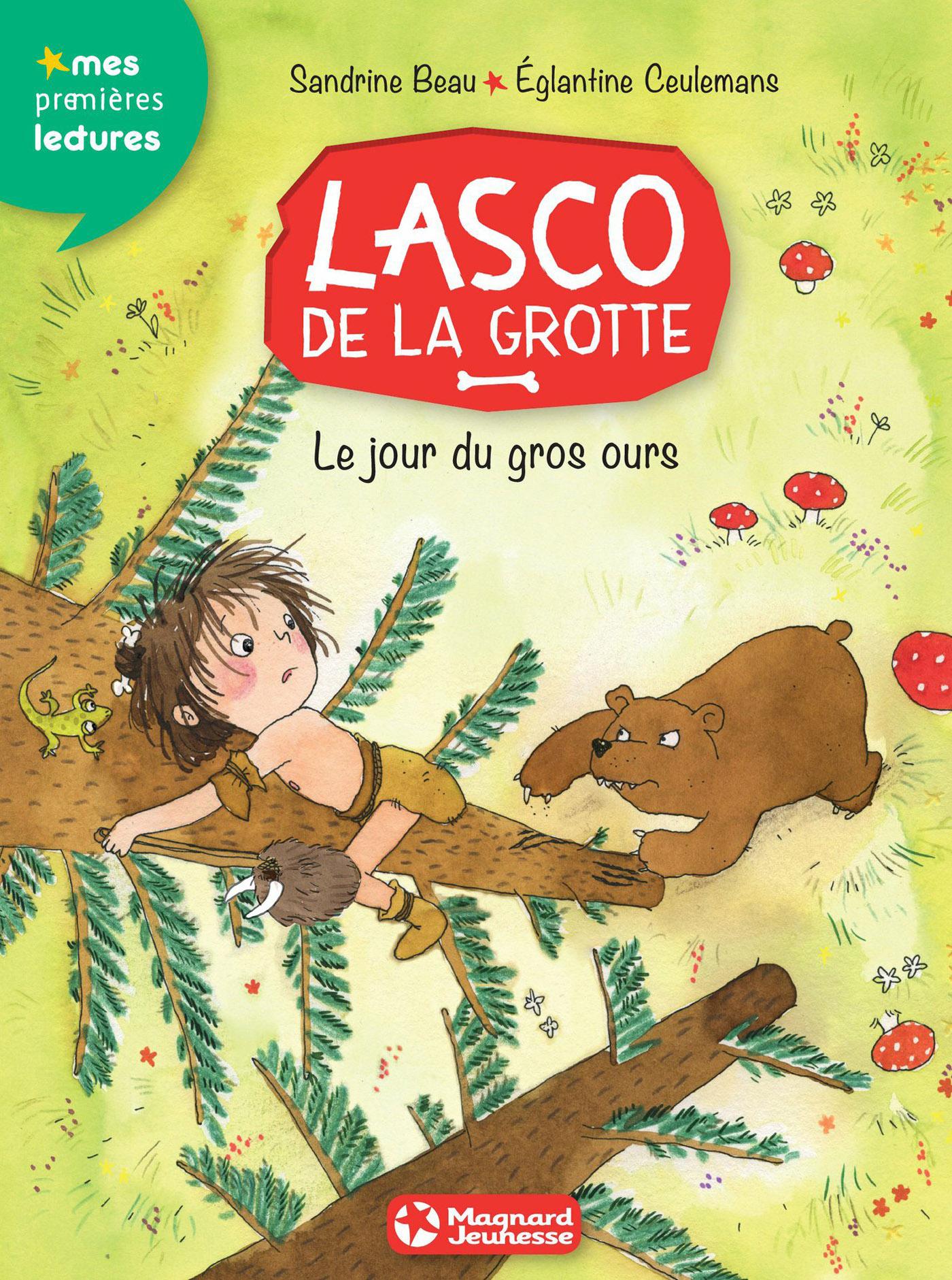 Lasco de la grotte 3 - Le Jour du gros ours | Beau, Sandrine . Auteur