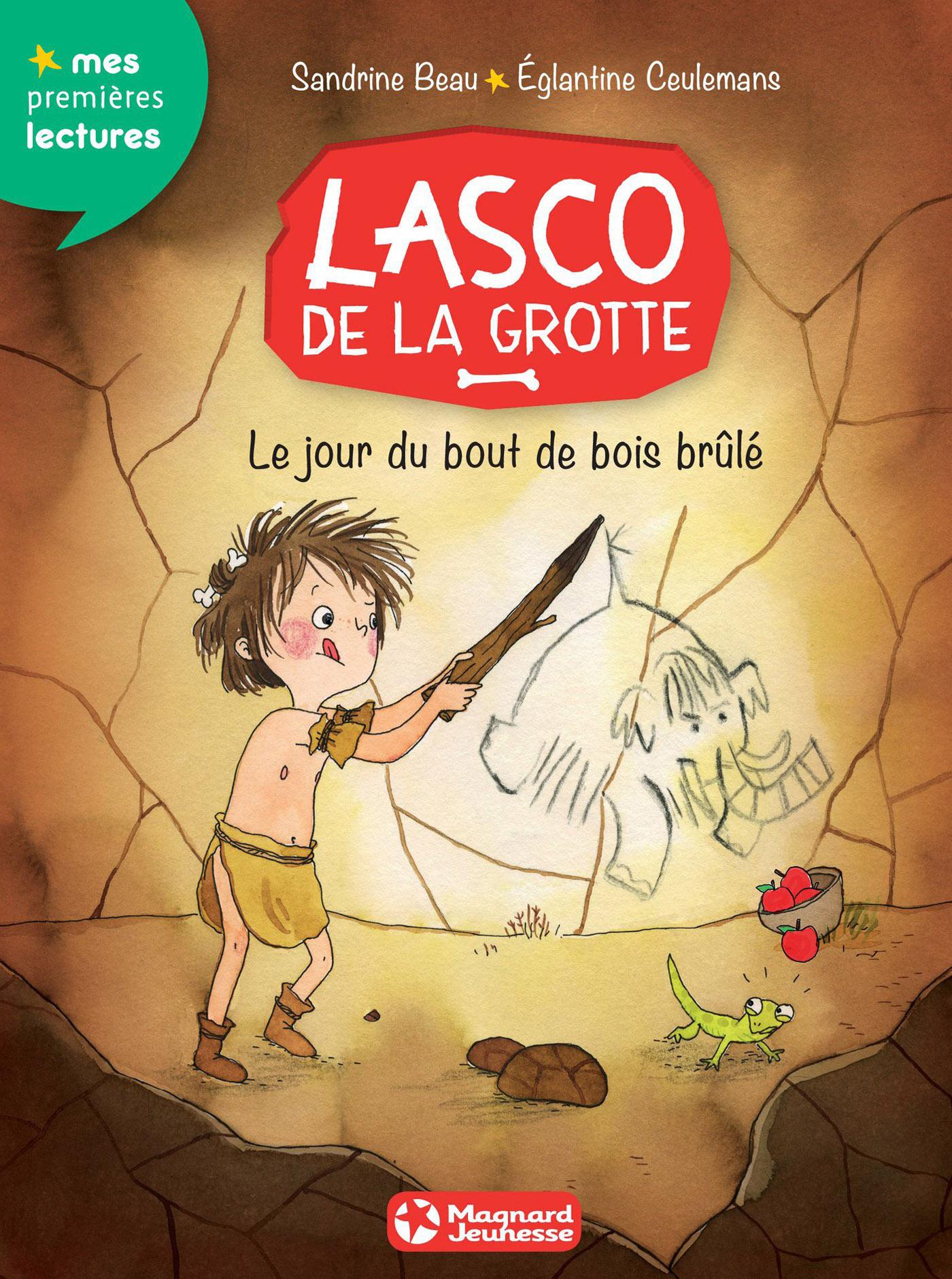 Lasco de la grotte 2 - Le Jour du bout de bois brûlé | Beau, Sandrine . Auteur