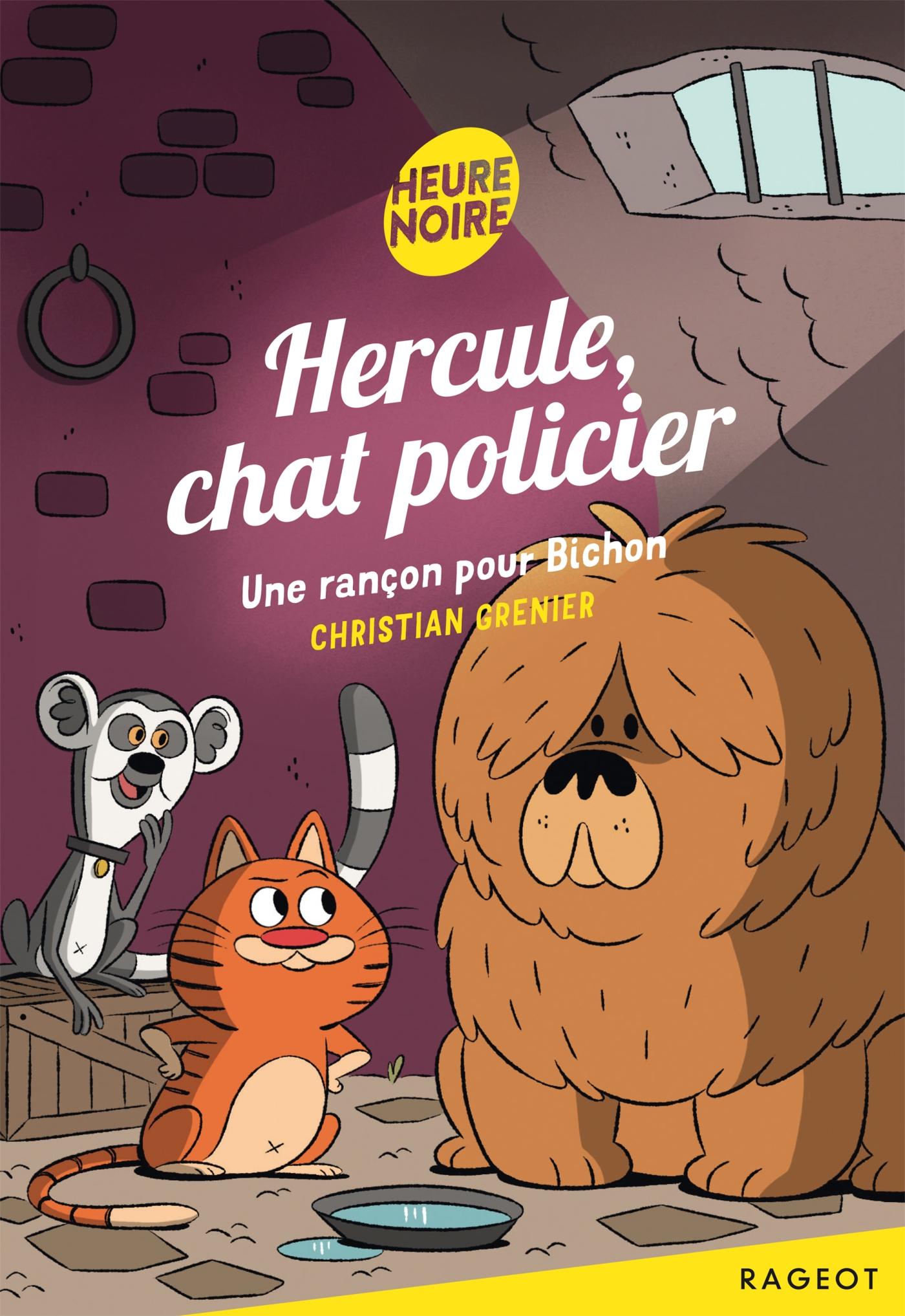 Hercule, chat policier - Une rançon pour Bichon |