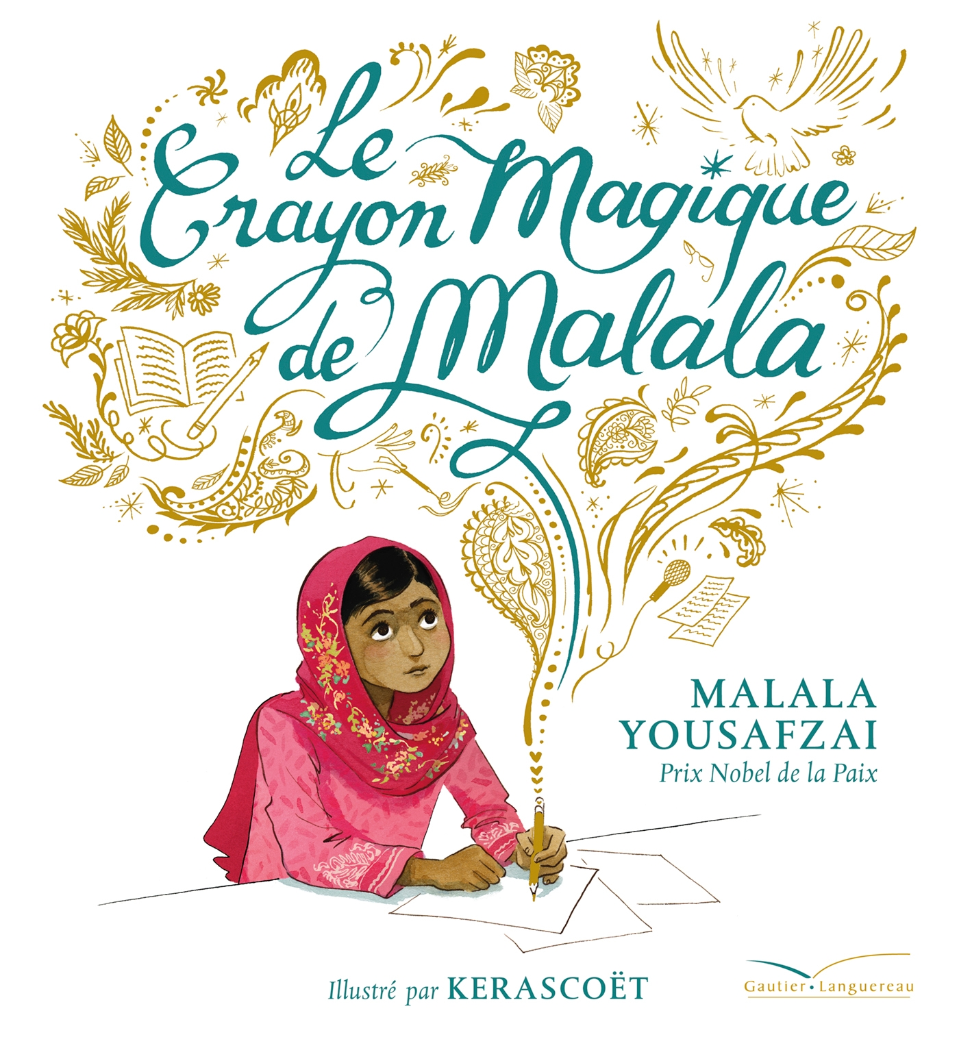 Cover image (Le crayon magique de Malala)