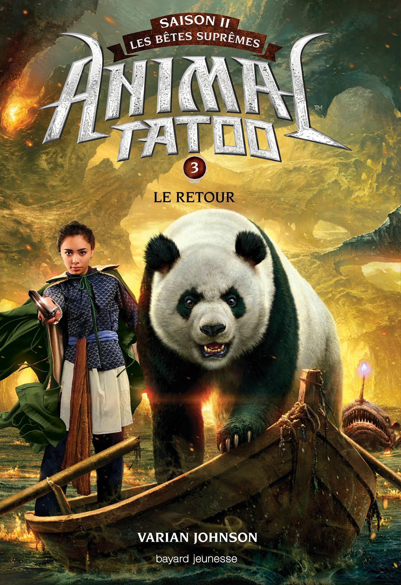 Image de couverture (Animal Tatoo saison 2 - Les bêtes suprêmes, Tome 03)