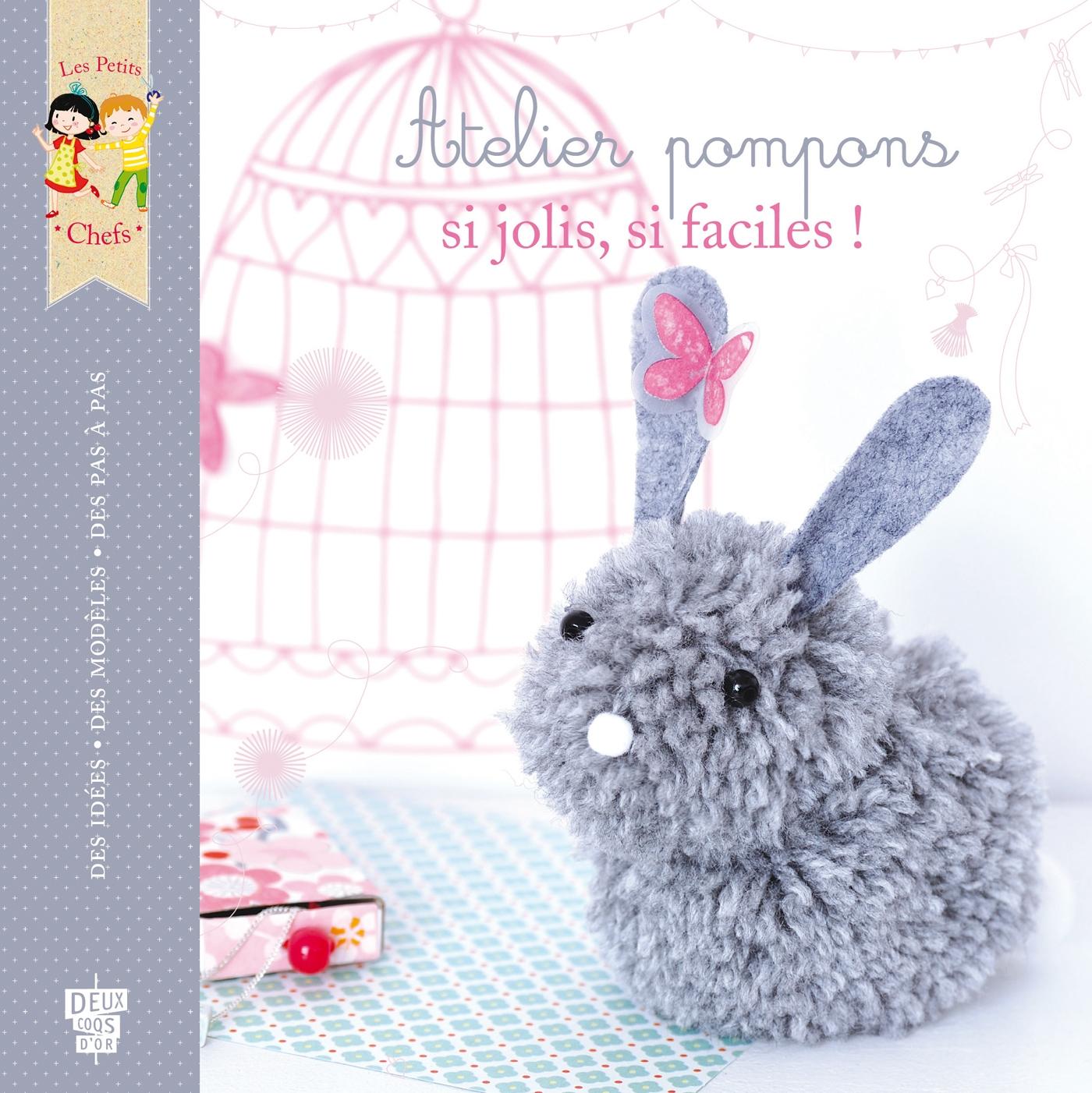 Atelier pompons | Thiboult, Karine. Auteur
