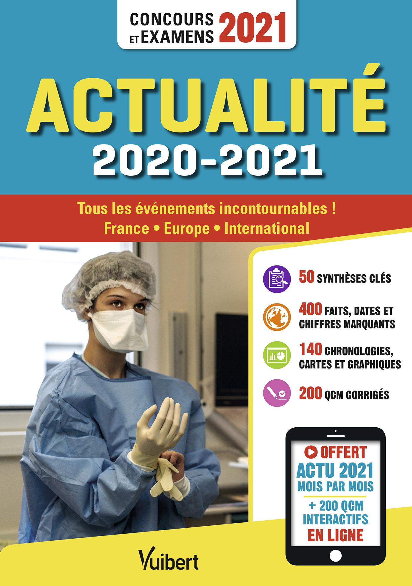 Actualité 2020-2021 - Concours et examens 2021 - Actu 2021 offerte en ligne | Klinger, Thibaut. Auteur
