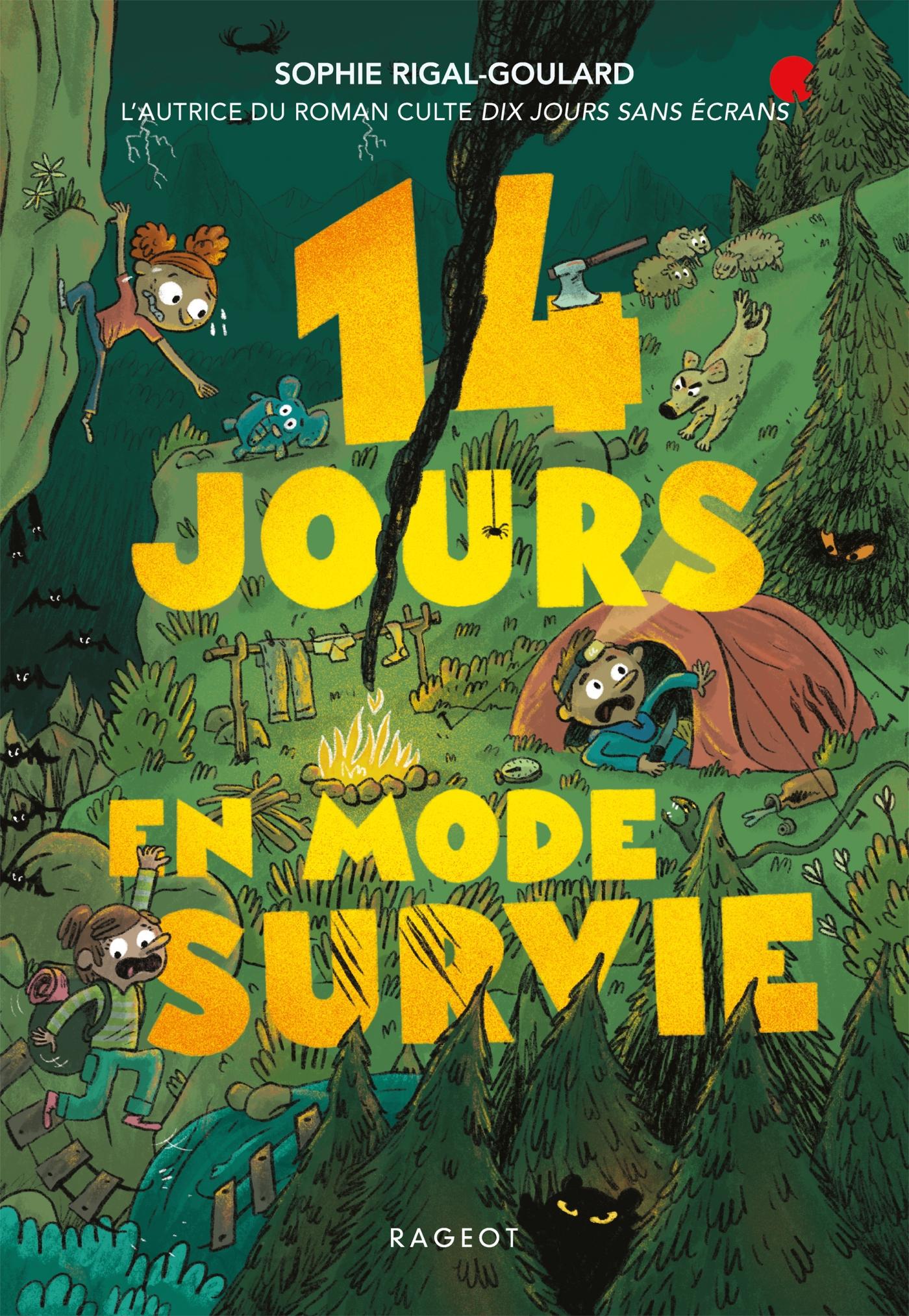 14 jours en mode survie | Rigal-Goulard, Sophie. Auteur