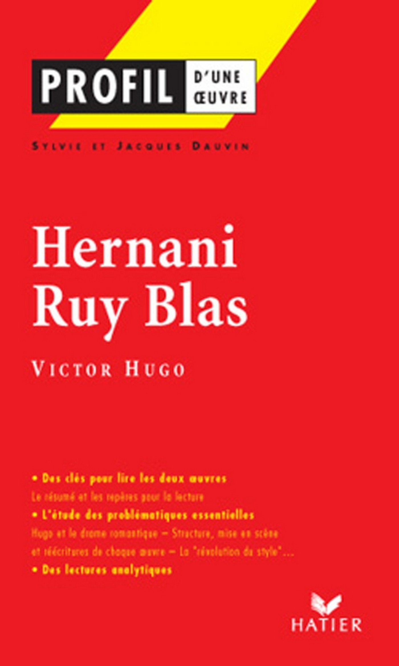 Image de couverture (Profil - Hugo (Victor) : Hernani - Ruy Blas)