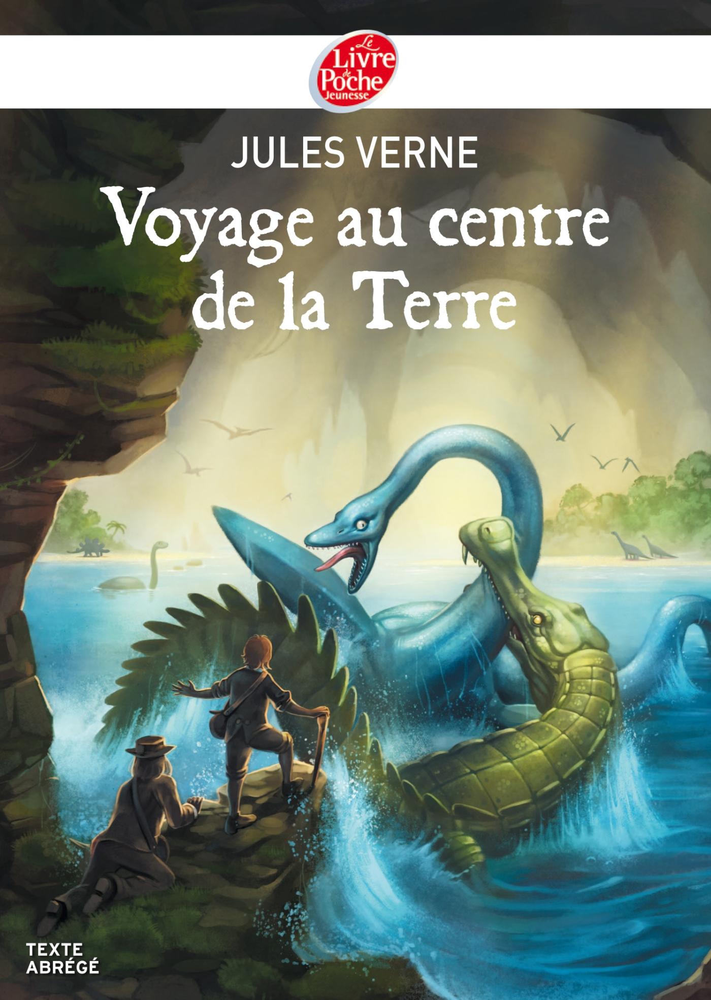 Voyage au centre de la Terre - Texte Abrégé   Verne, Jules. Auteur