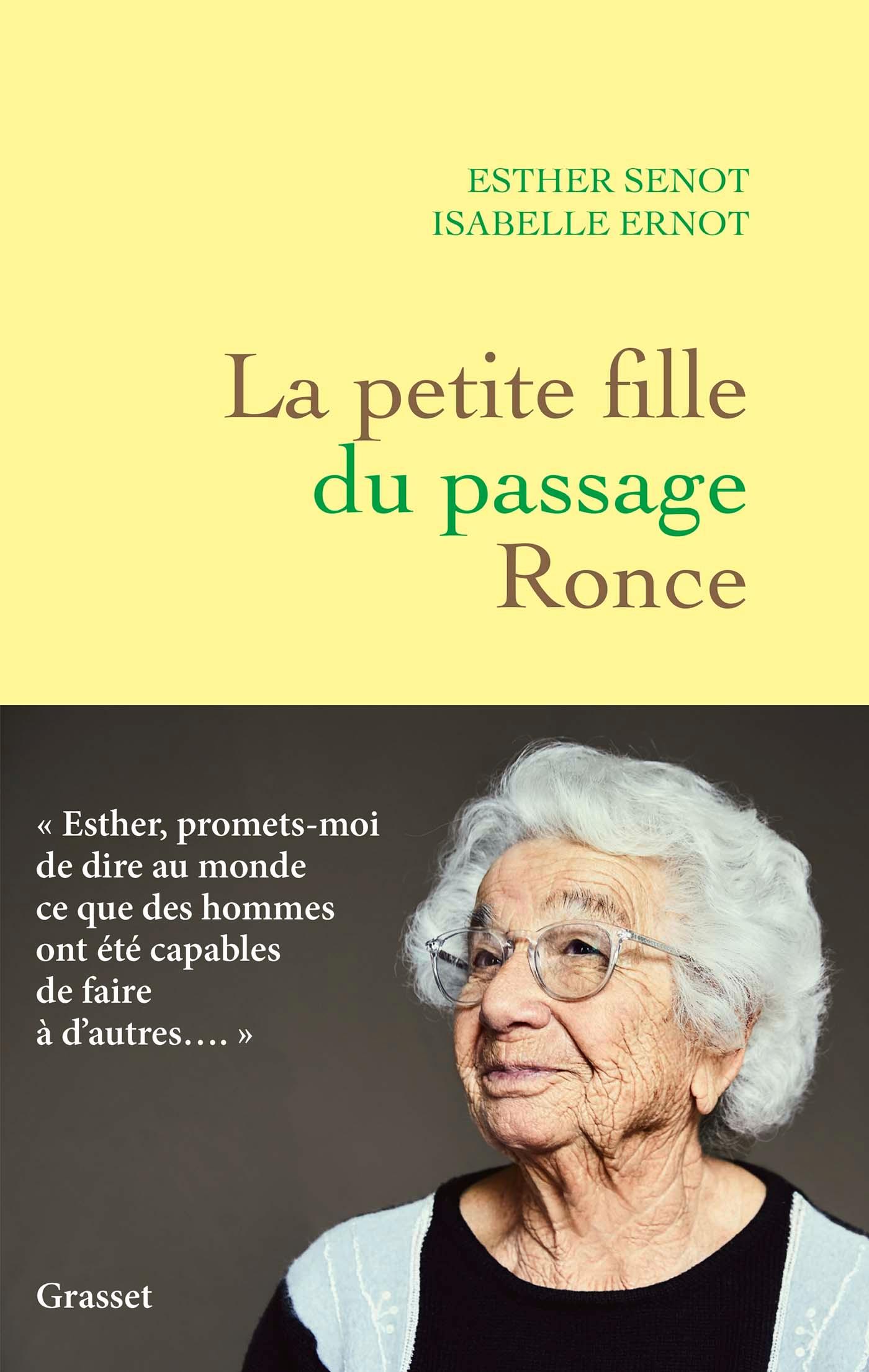 La petite fille du passage Ronce | Senot, Esther. Auteur