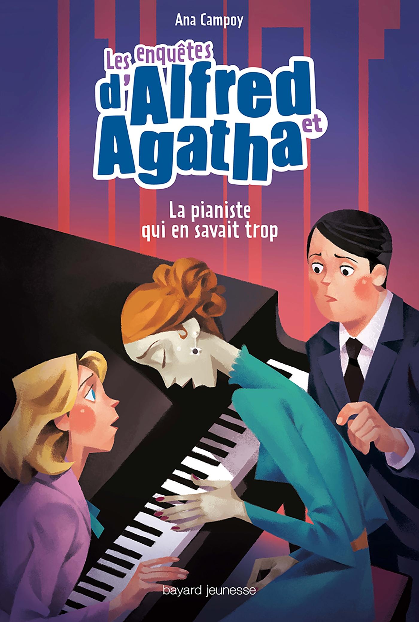 La pianiste qui en savait trop | Campoy, Ana