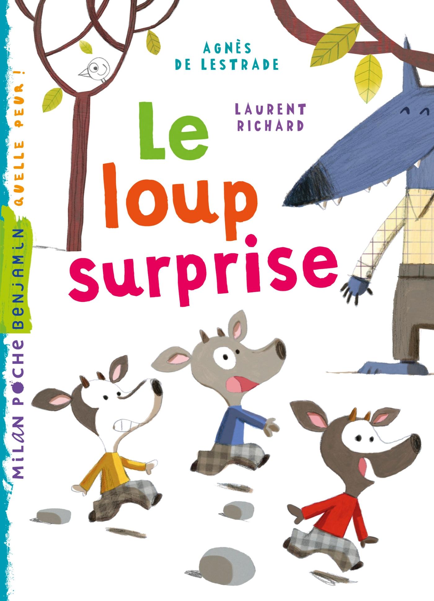 Le loup surprise | de Lestrade, Agnès. Auteur
