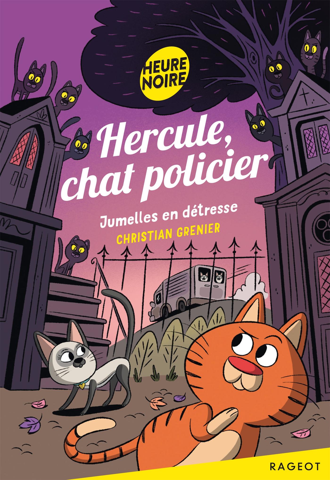 Hercule, chat policier - Jumelles en détresse |