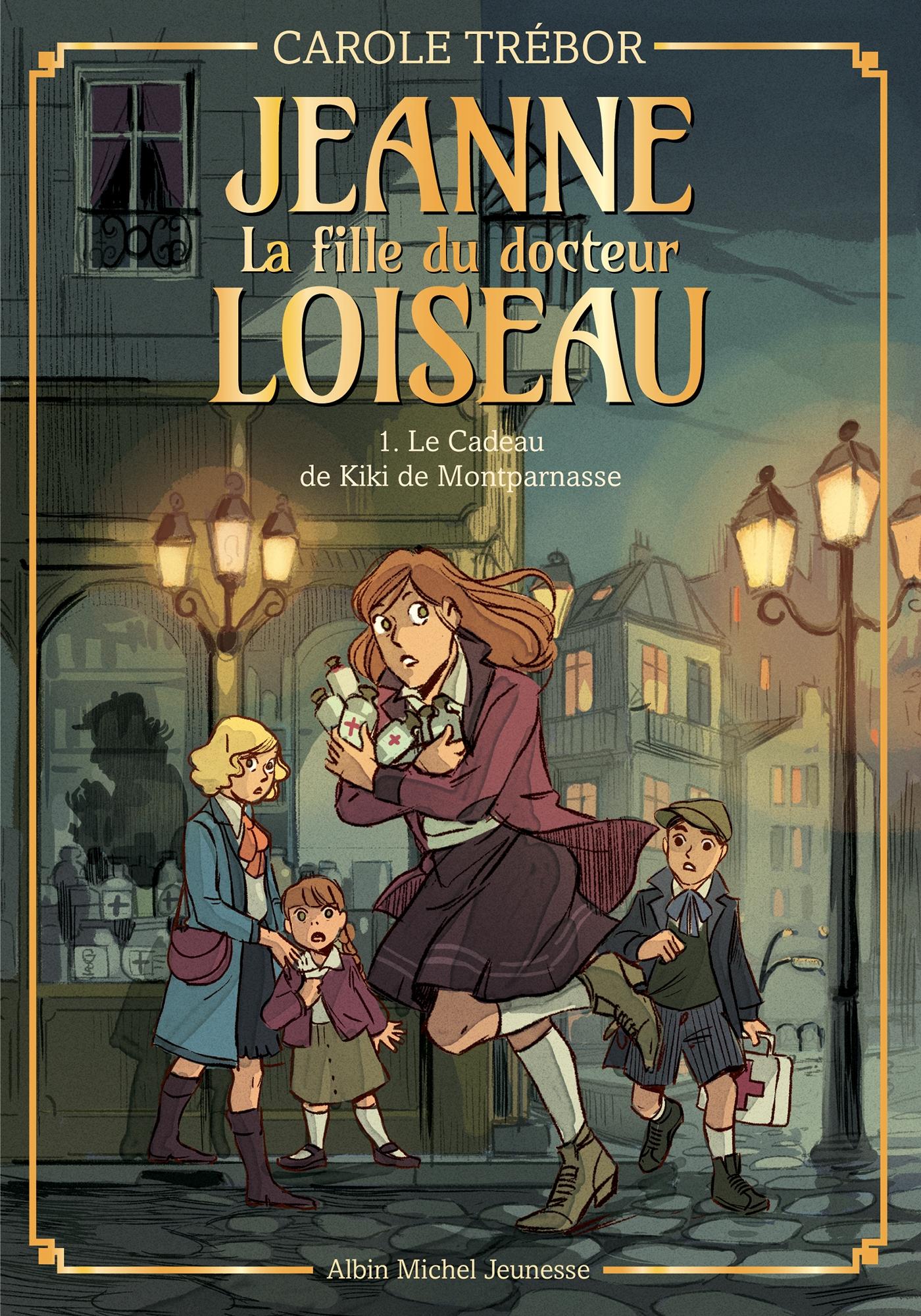Le Cadeau de Kiki de Montparnasse - tome 1 | Trébor, Carole. Auteur