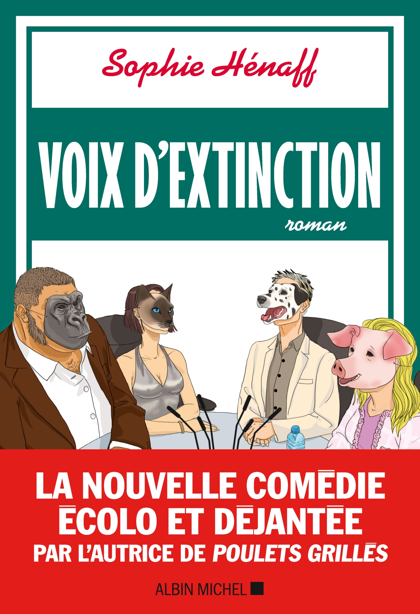 Voix d'extinction | Hénaff, Sophie. Auteur