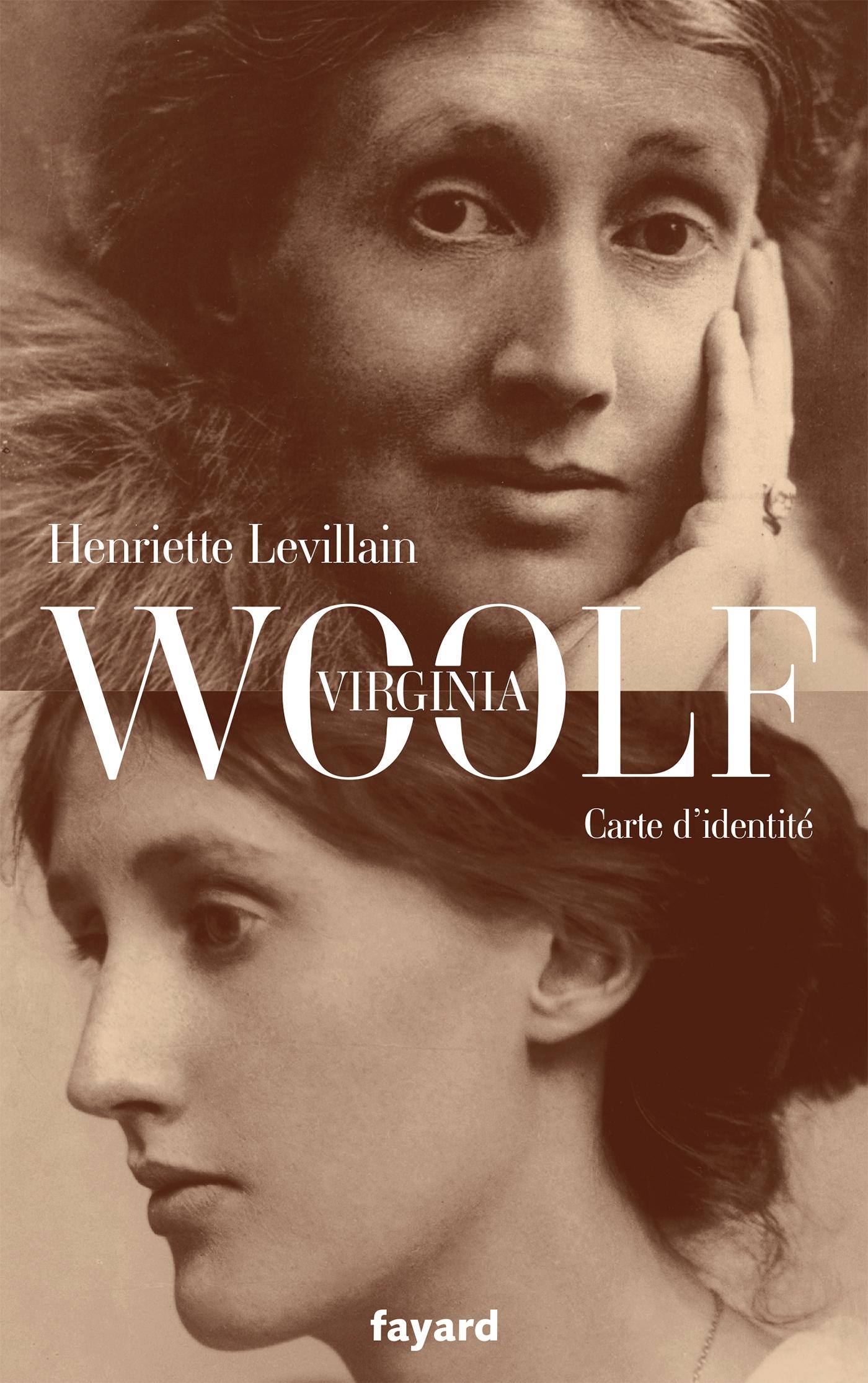 Virginia Woolf, carte d'identité | Levillain, Henriette. Auteur