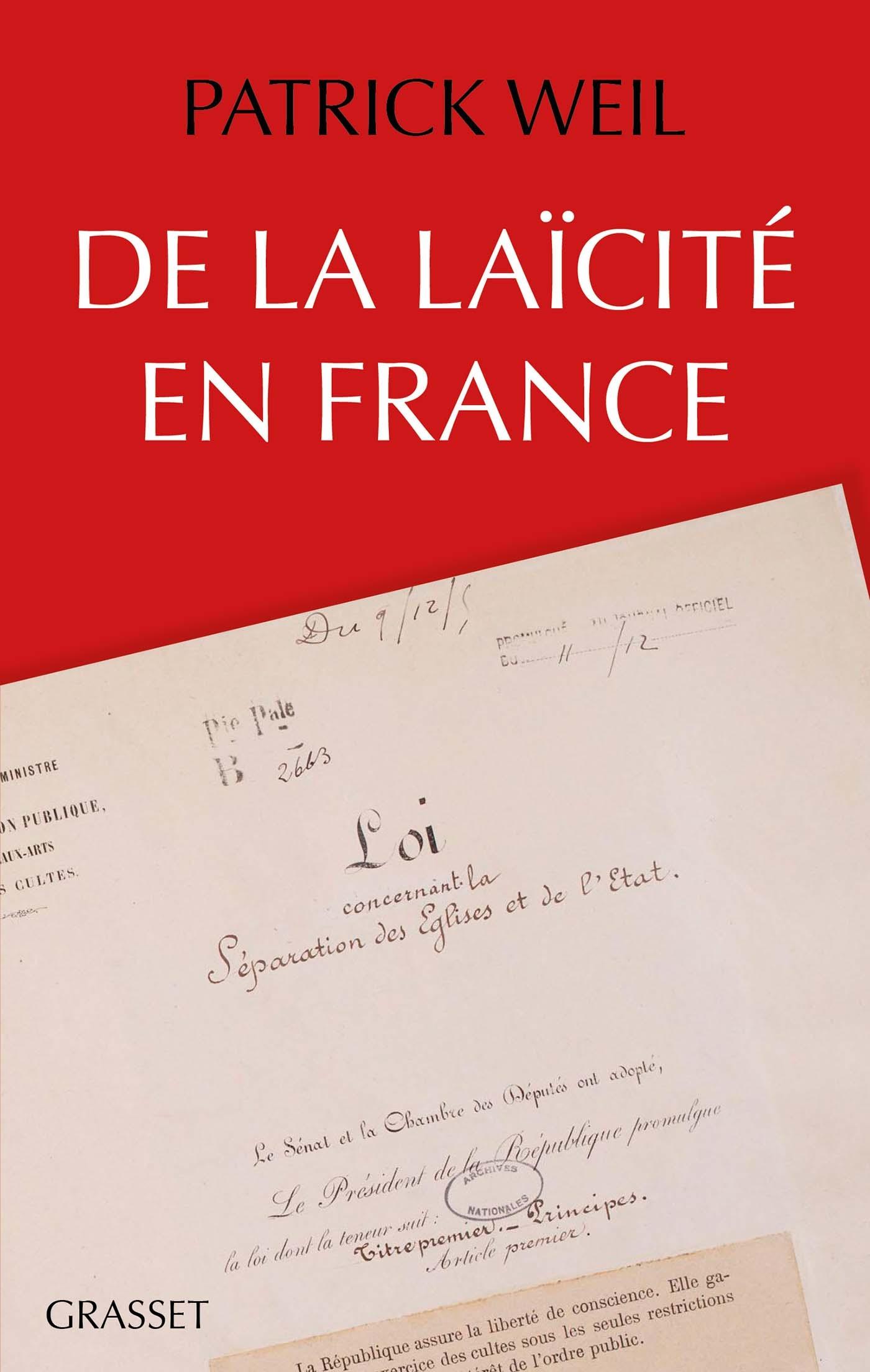 De la laïcité en France |