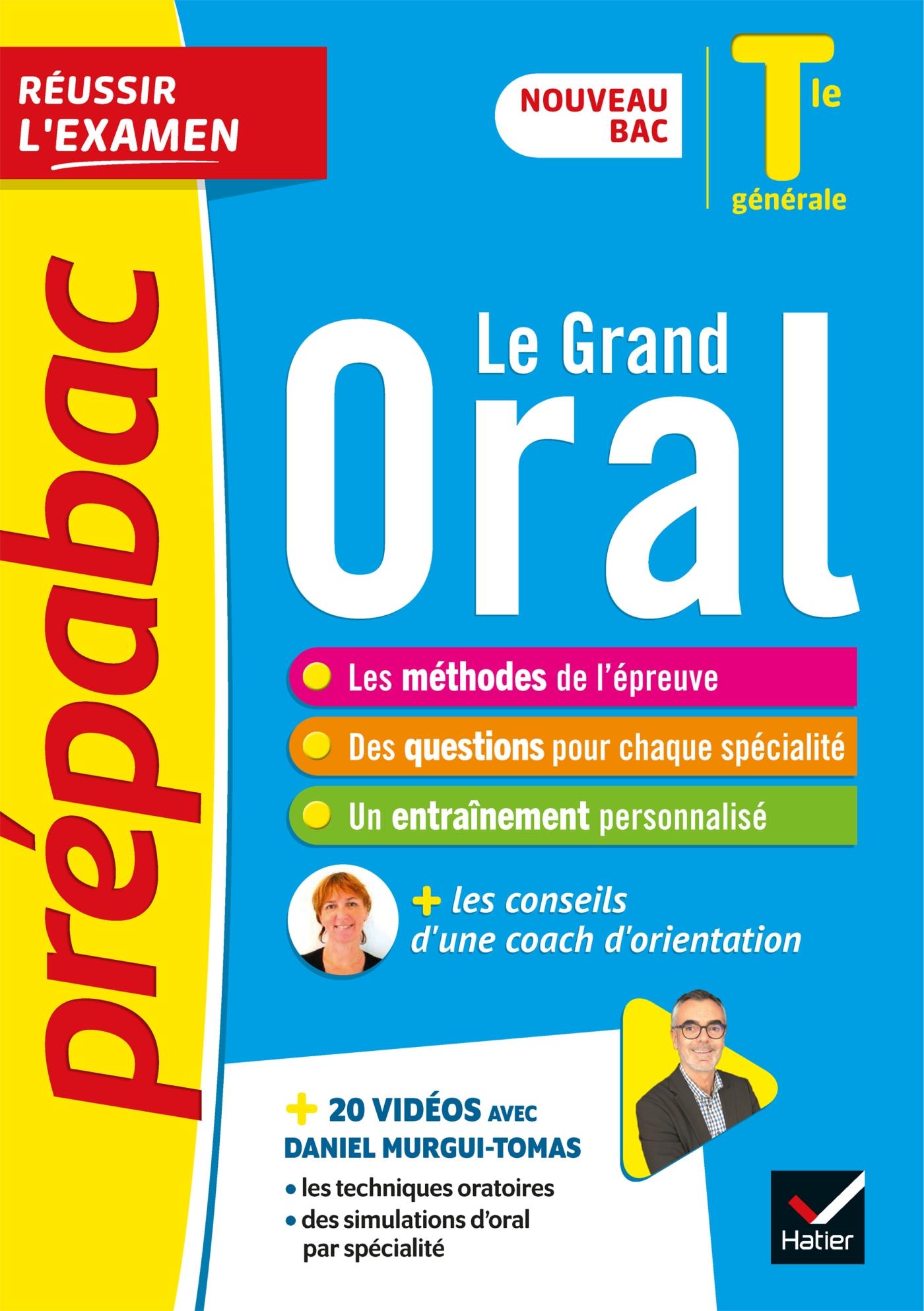 Prépabac Le Grand Oral Tle générale - Bac 2022 | Collectif, . Auteur
