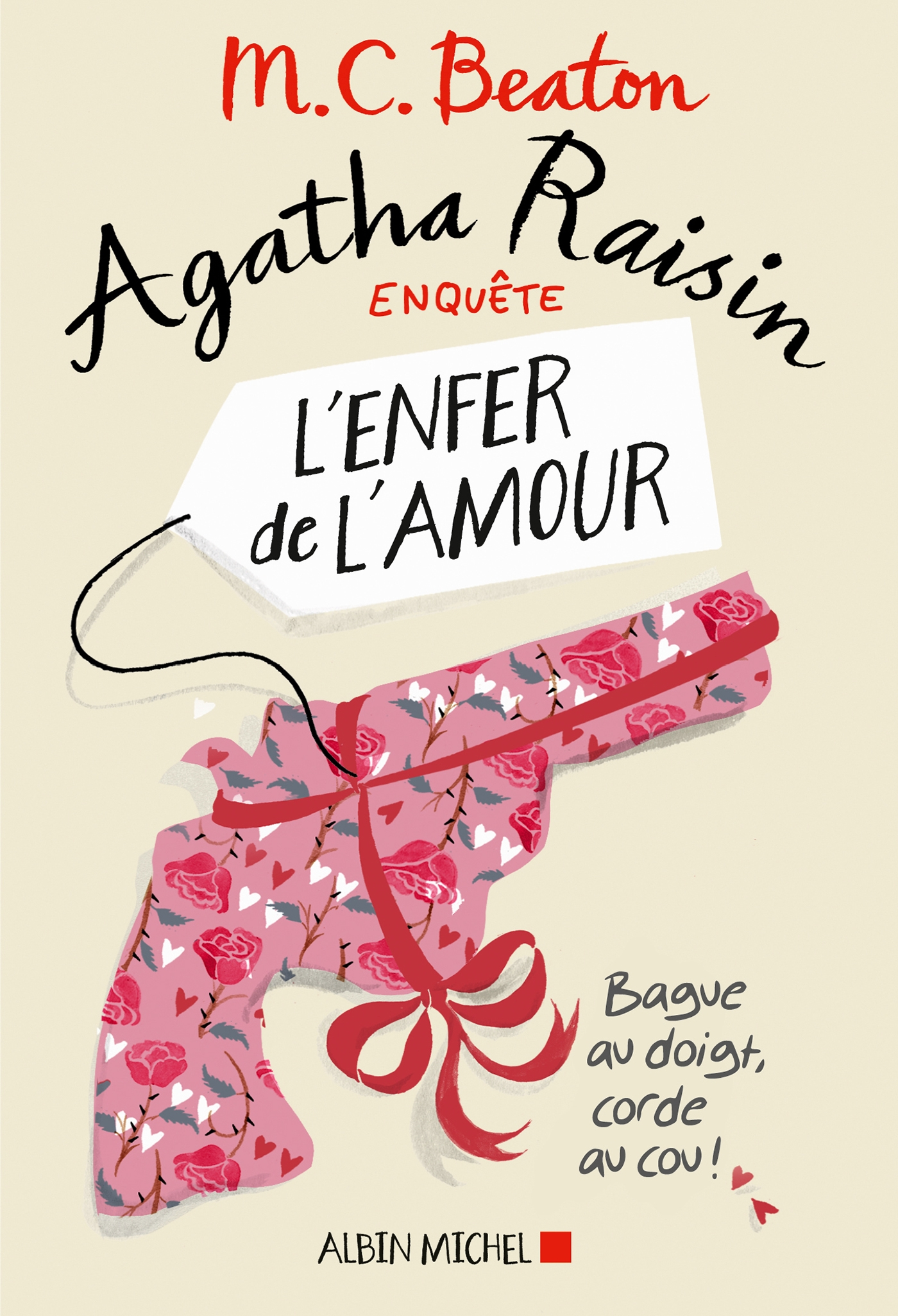 Cover image (Agatha Raisin enquête 11 - L'enfer de l'amour)
