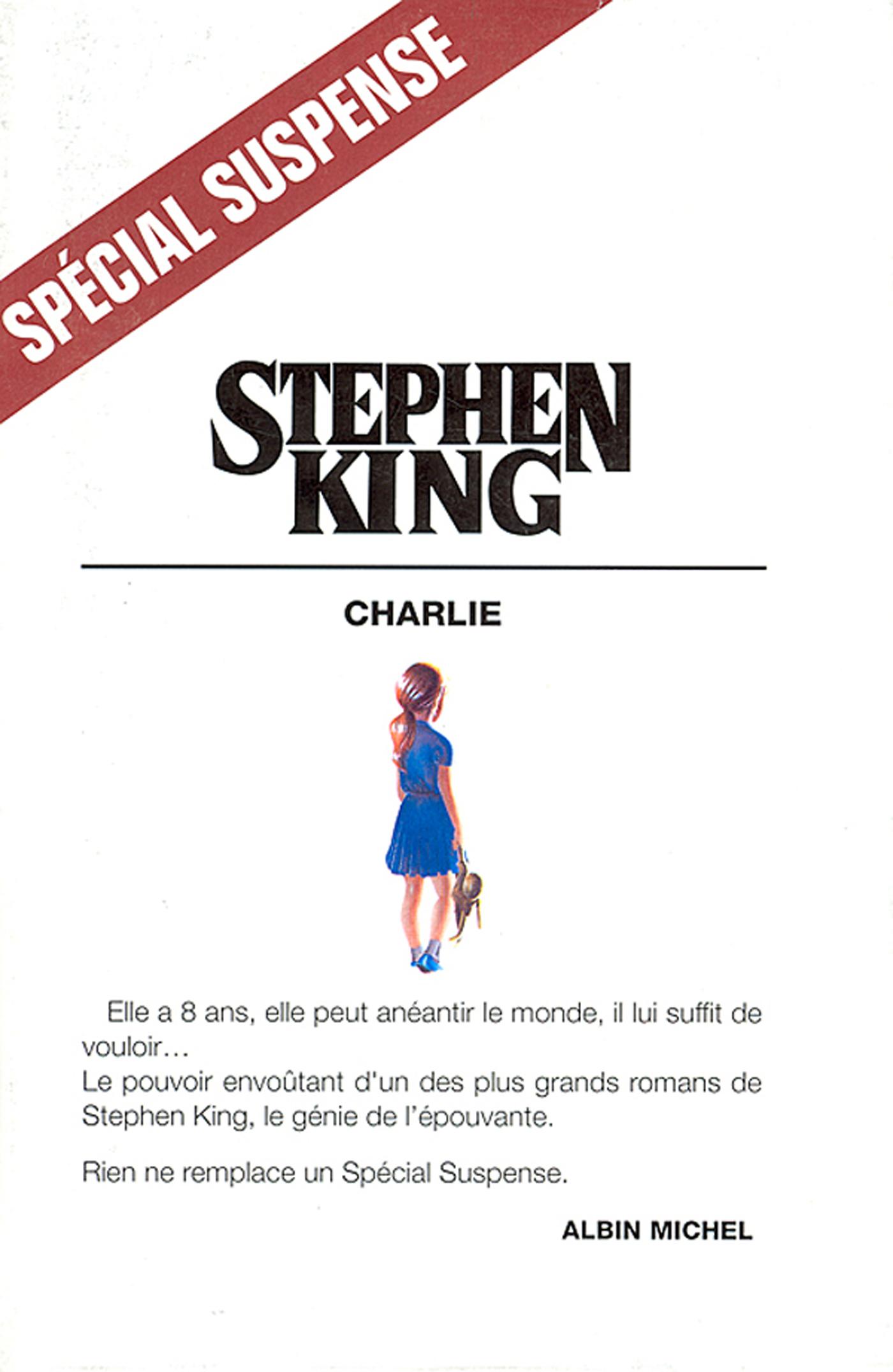 Charlie | King, Stephen. Auteur