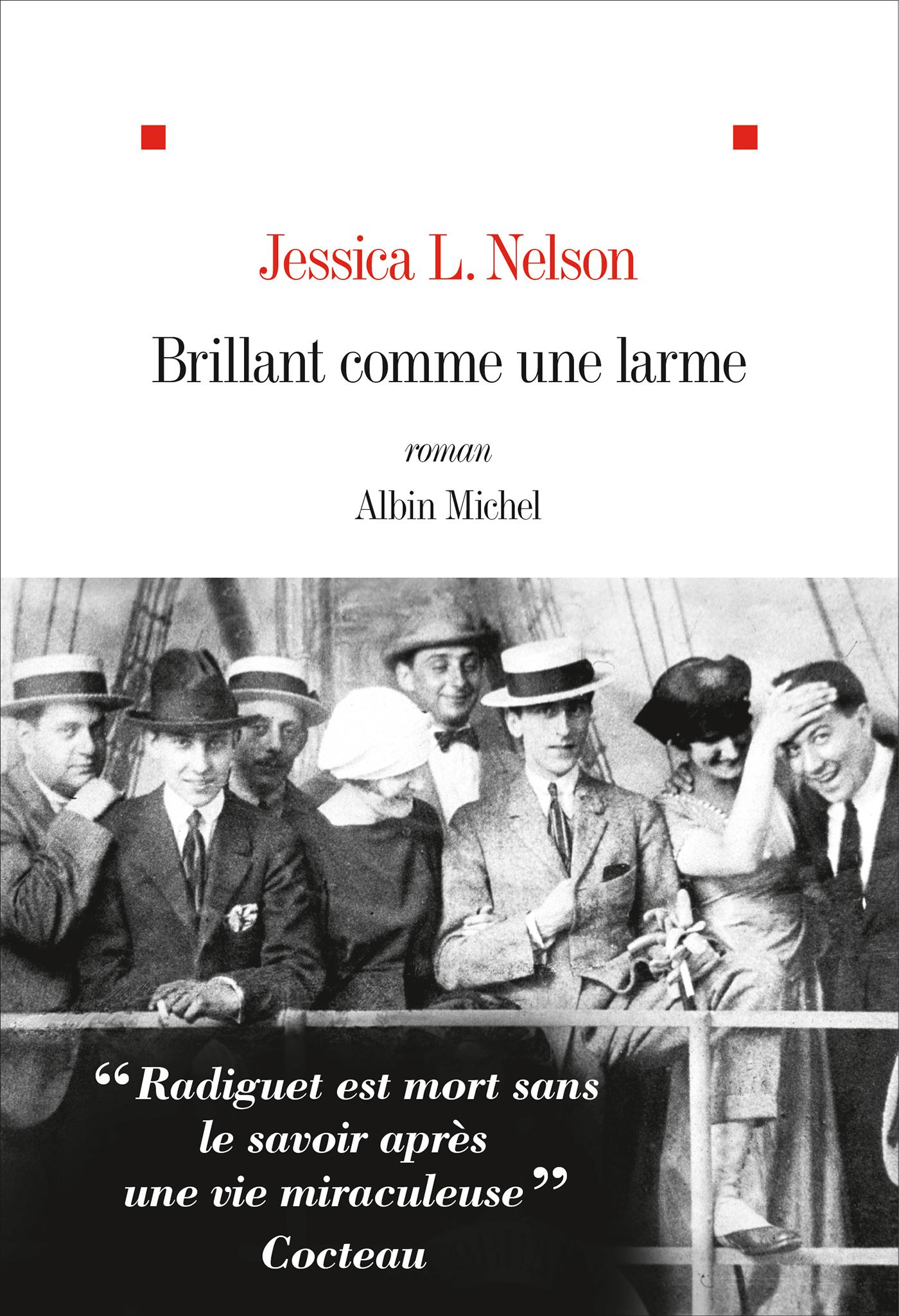 Brillant comme une larme | Nelson, Jessica L.. Auteur