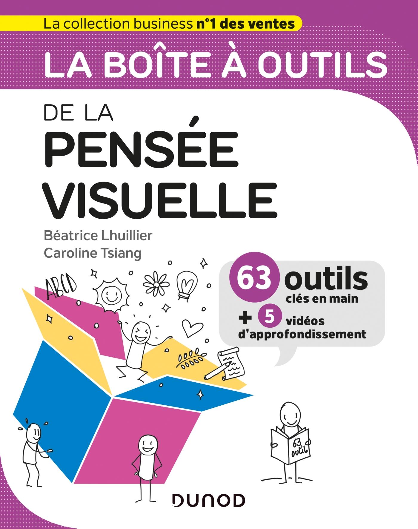 La boîte à outils de la pensée visuelle | Lhuillier, Béatrice. Auteur
