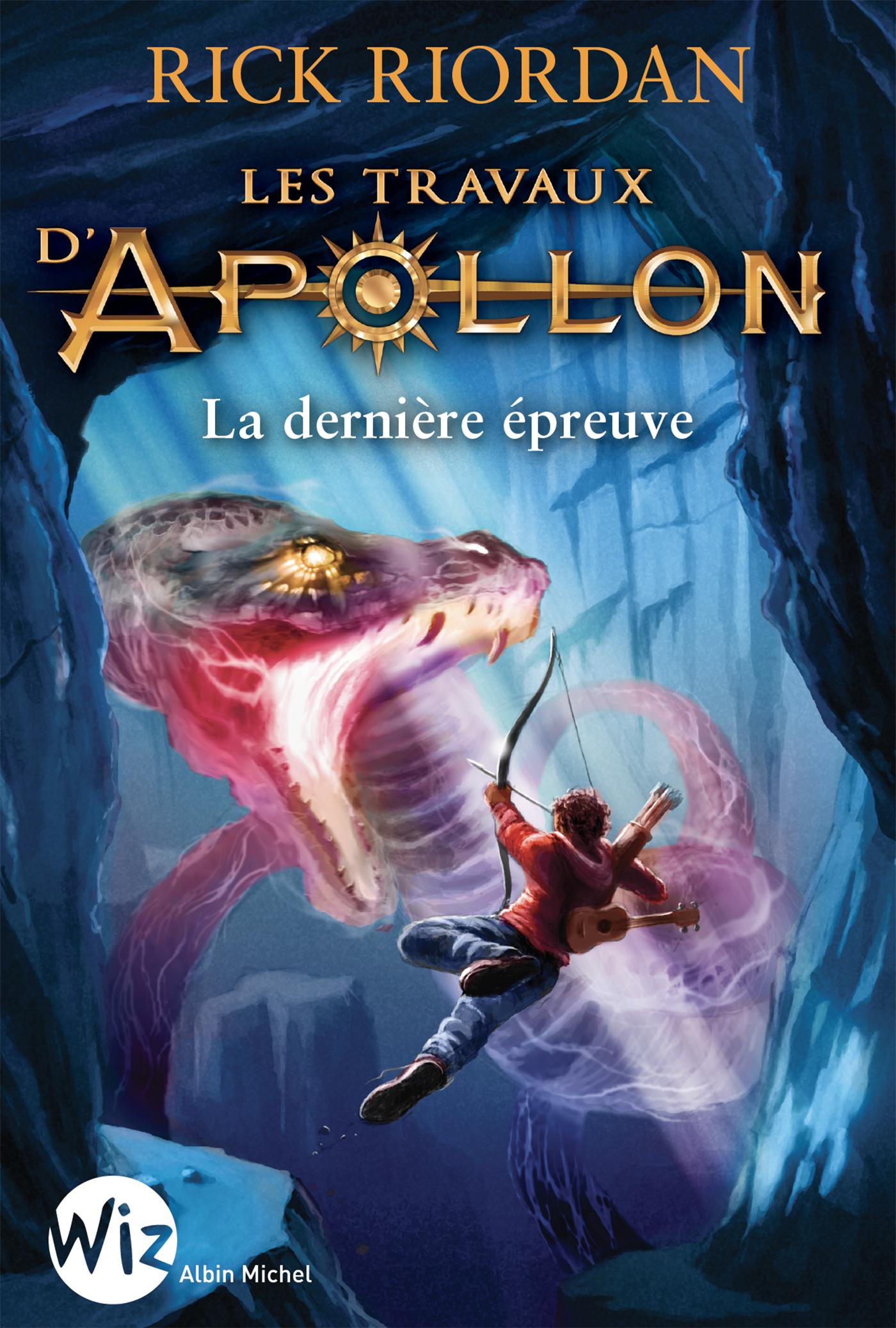 Les Travaux d'Apollon - tome 5 | Riordan, Rick. Auteur