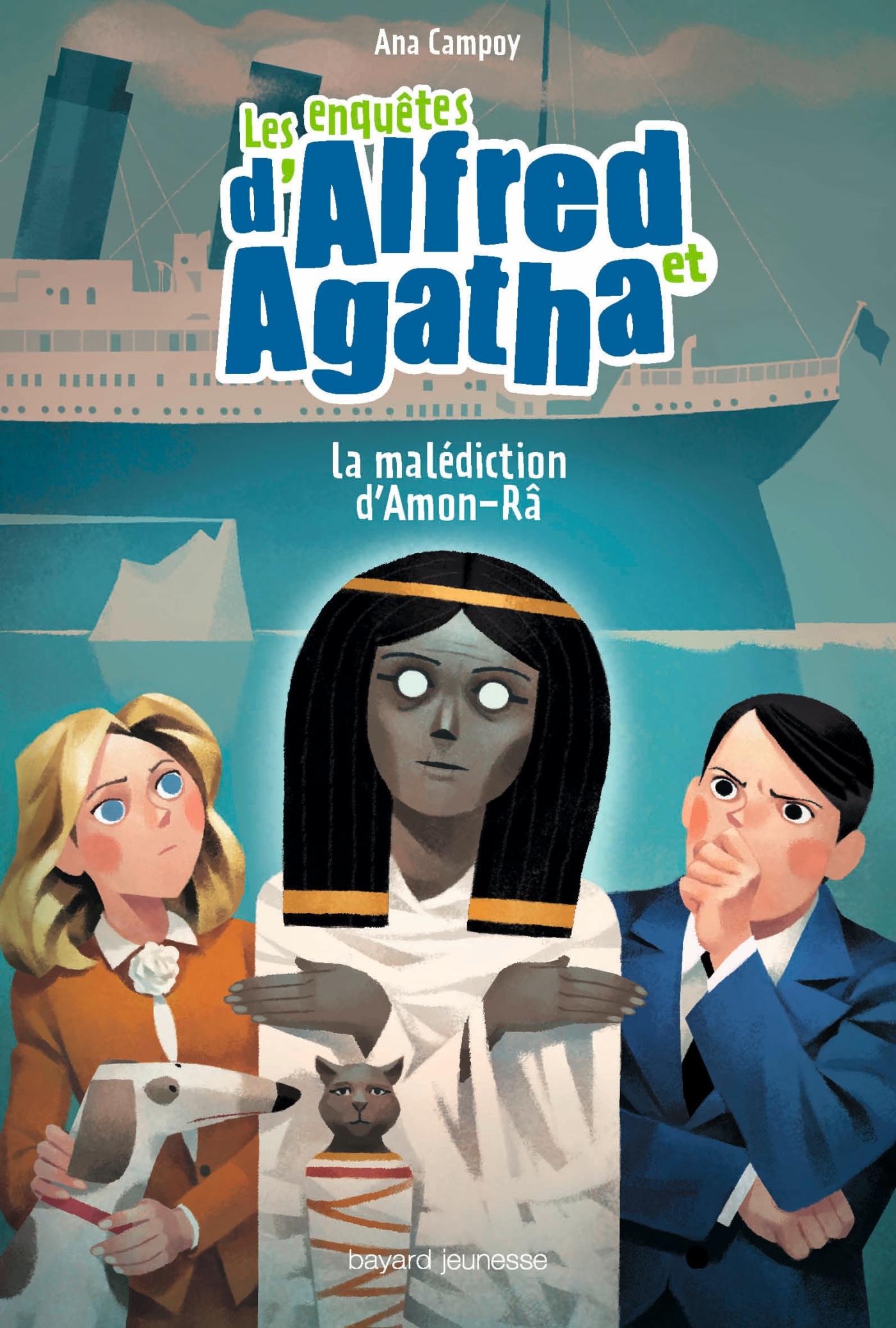 Les enquêtes d'Alfred et Agatha, Tome 07 |