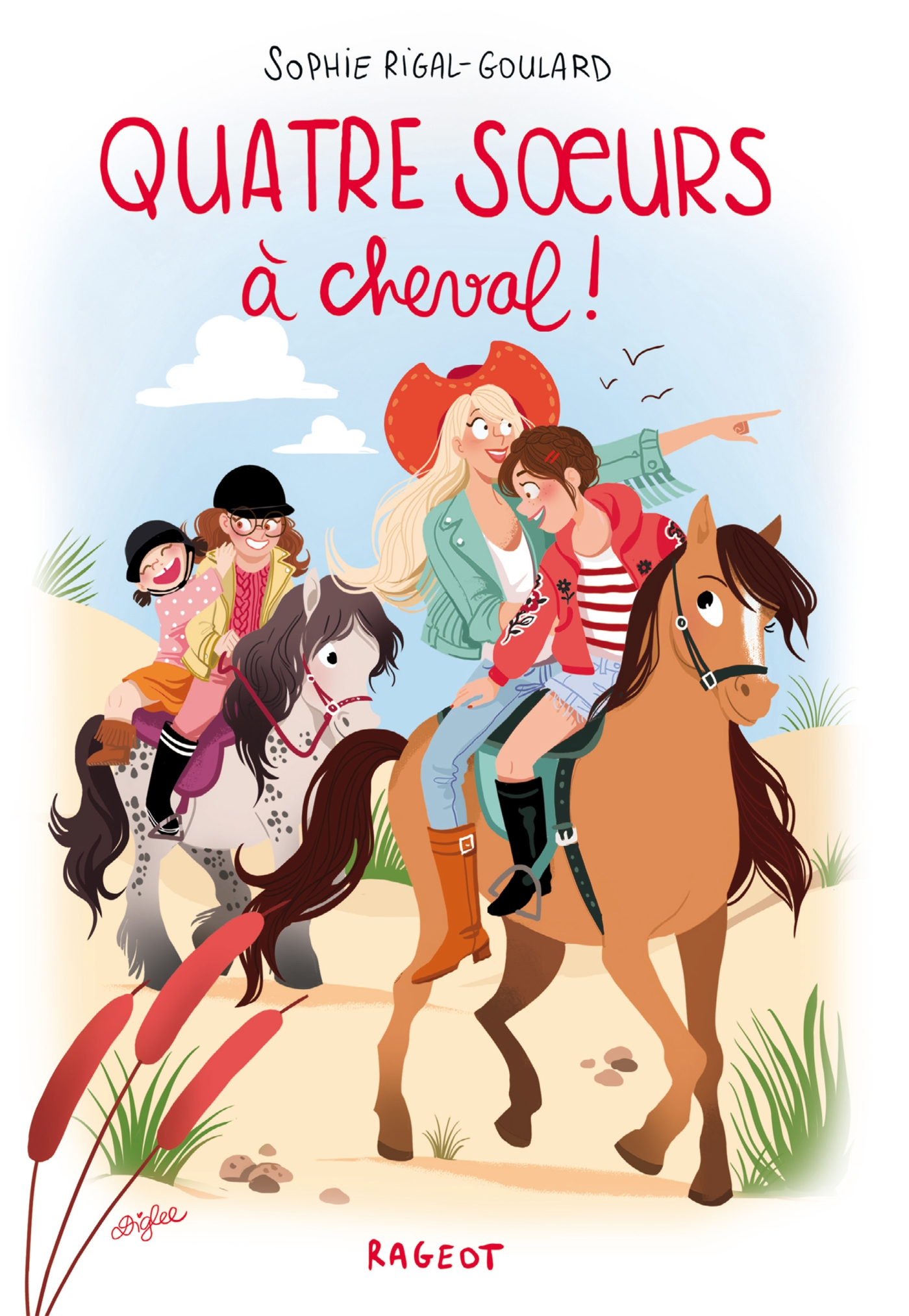Quatre soeurs à cheval ! | Rigal-Goulard, Sophie