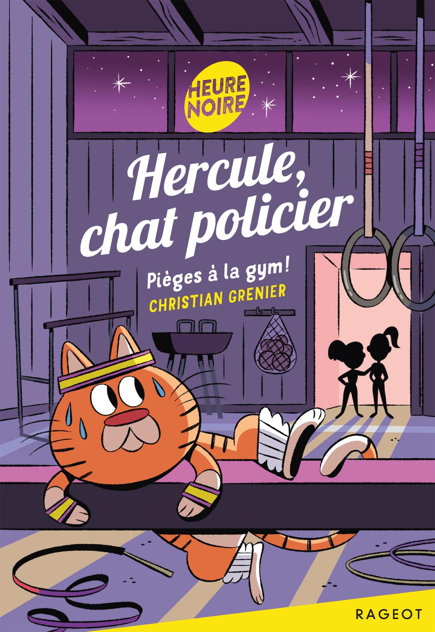 Hercule, chat policier - Pièges à la gym ! |