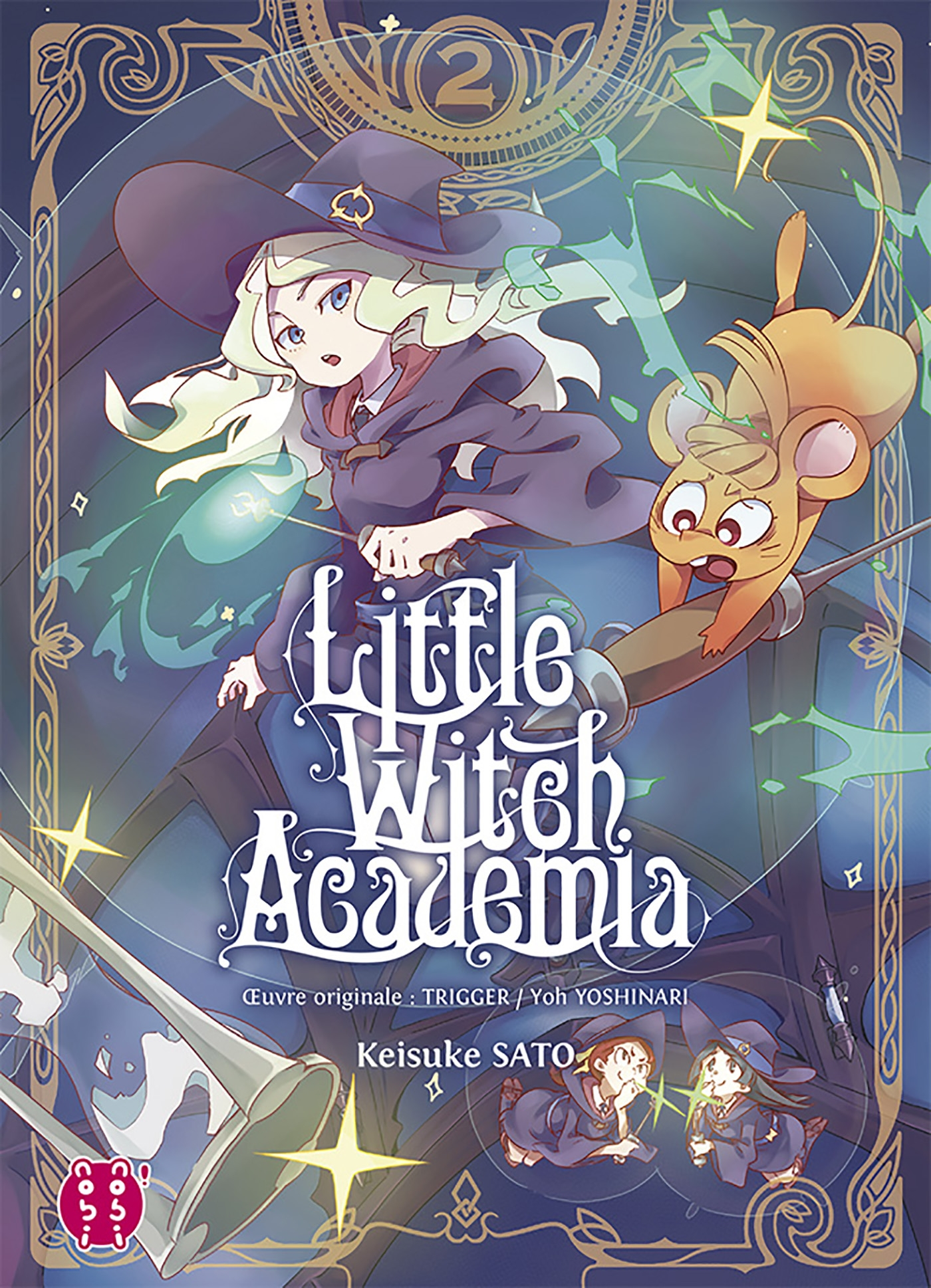 Little Witch Academia T02 | Trigger, . Contributeur