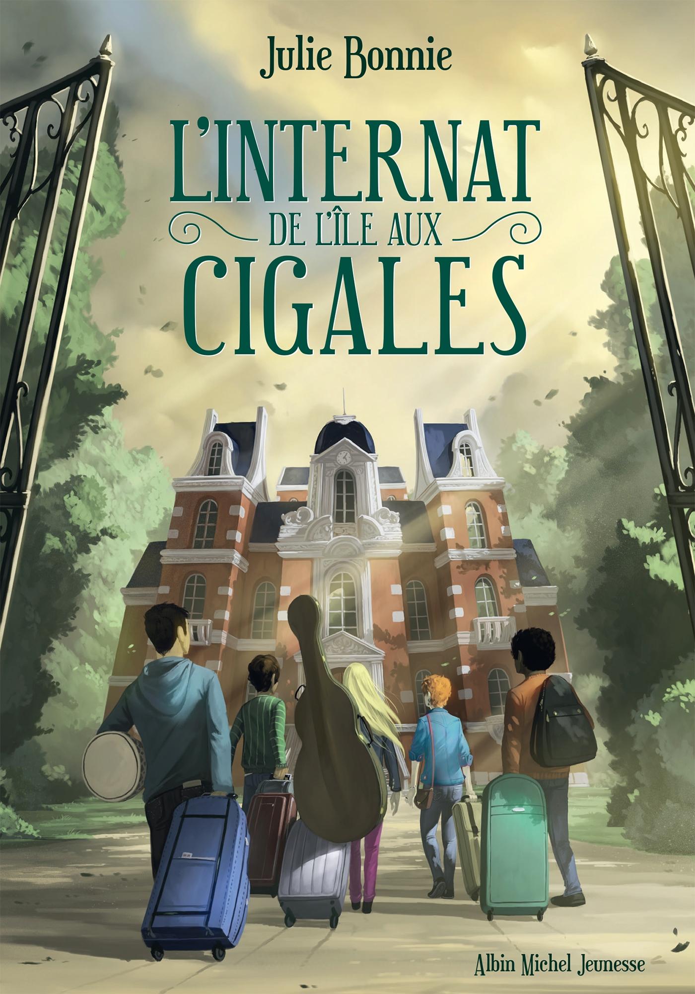 L'Internat de l'Ile aux Cigales | Bonnie, Julie. Auteur