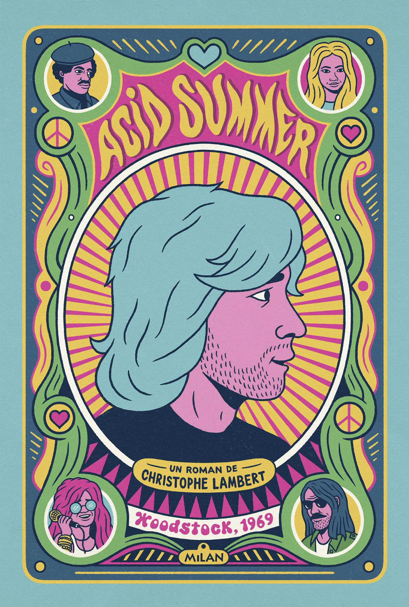 Acid Summer   Lambert, Christophe. Auteur