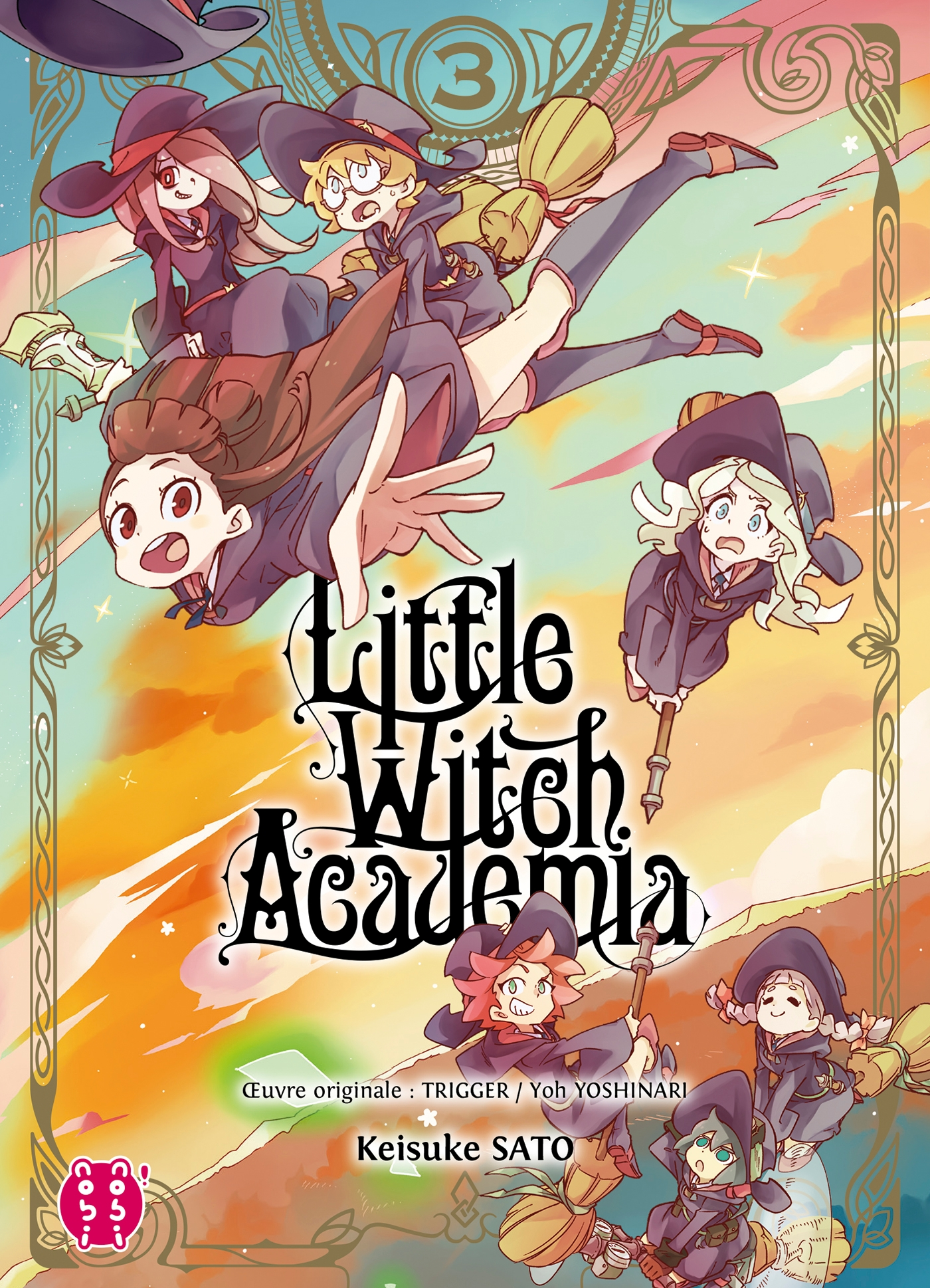 Little Witch Academia T03 | Trigger, . Contributeur