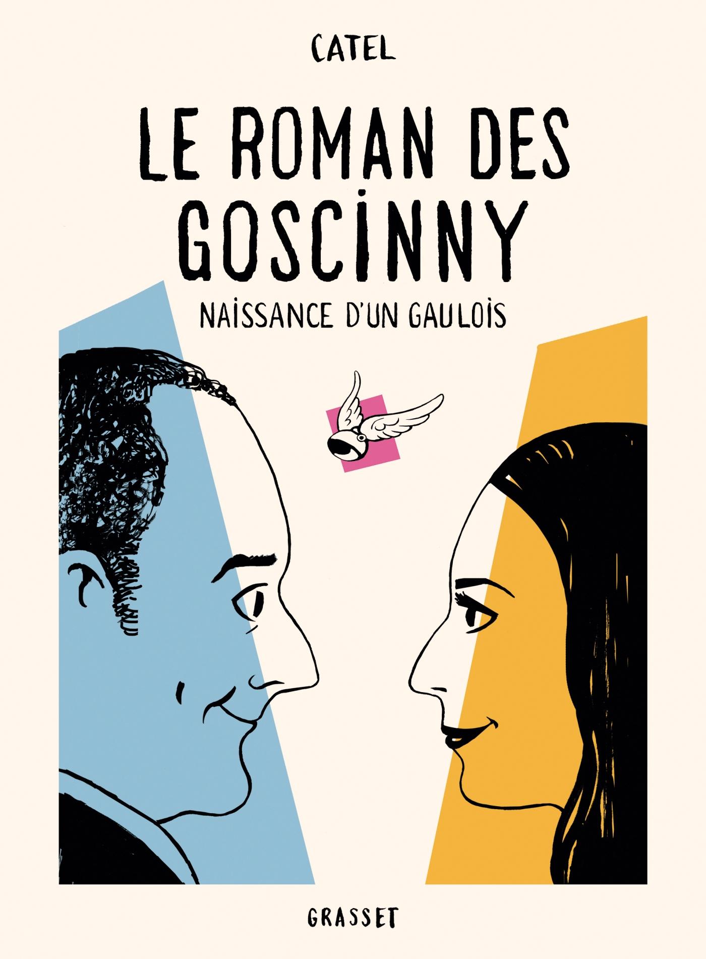 Le roman des Goscinny | Catel, . Auteur