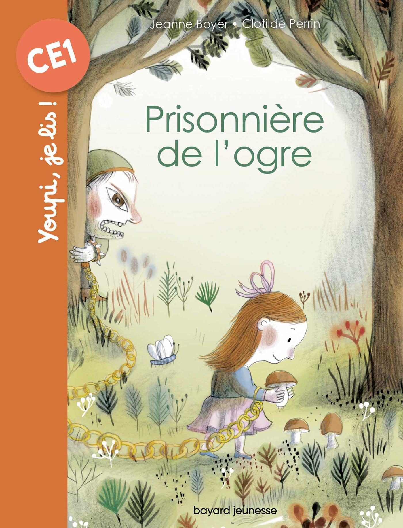 Prisonnière de l'ogre | Boyer, Jeanne. Auteur