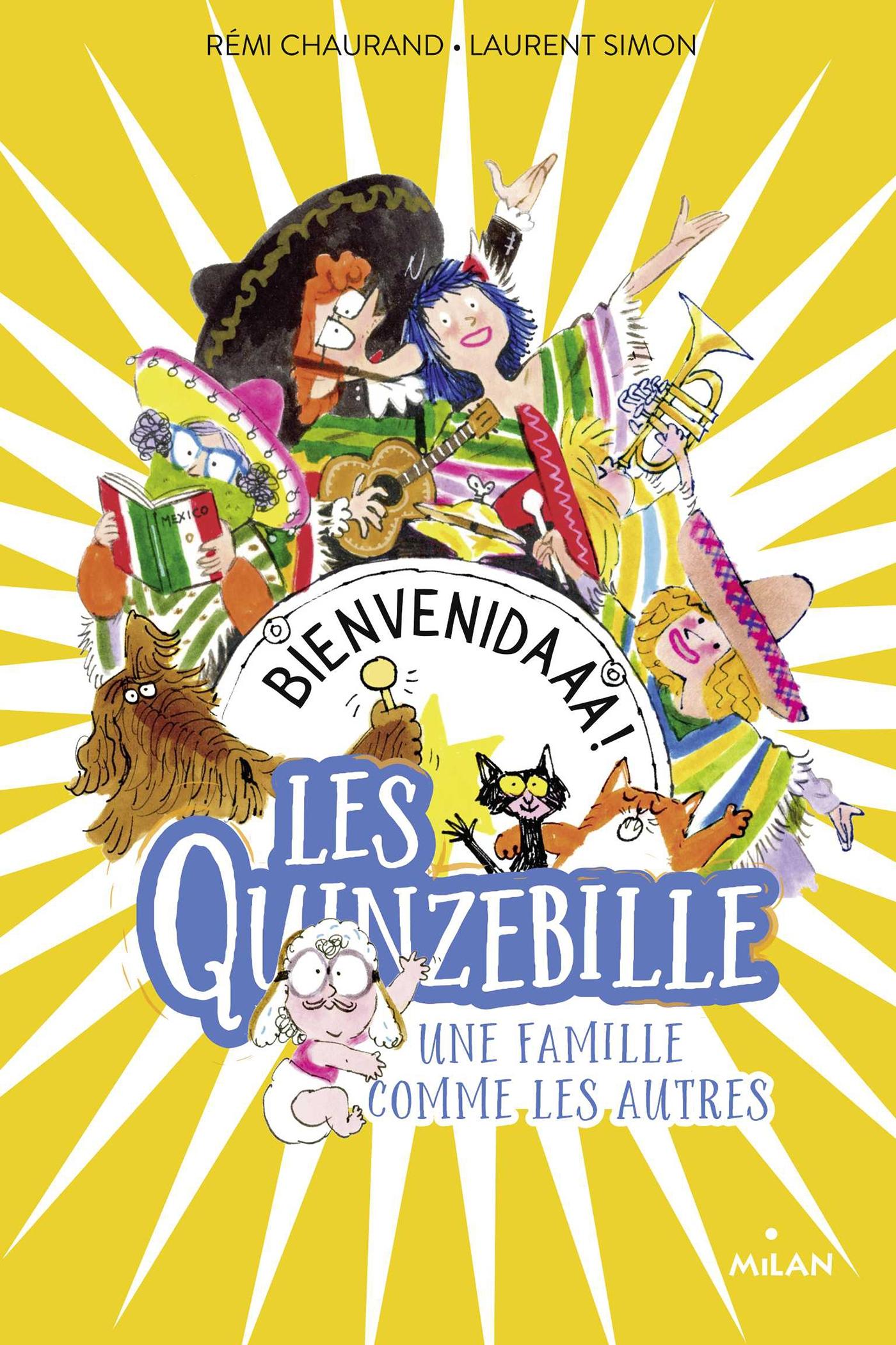 Les Quinzebille, Tome 02 | Chaurand, Rémi. Auteur