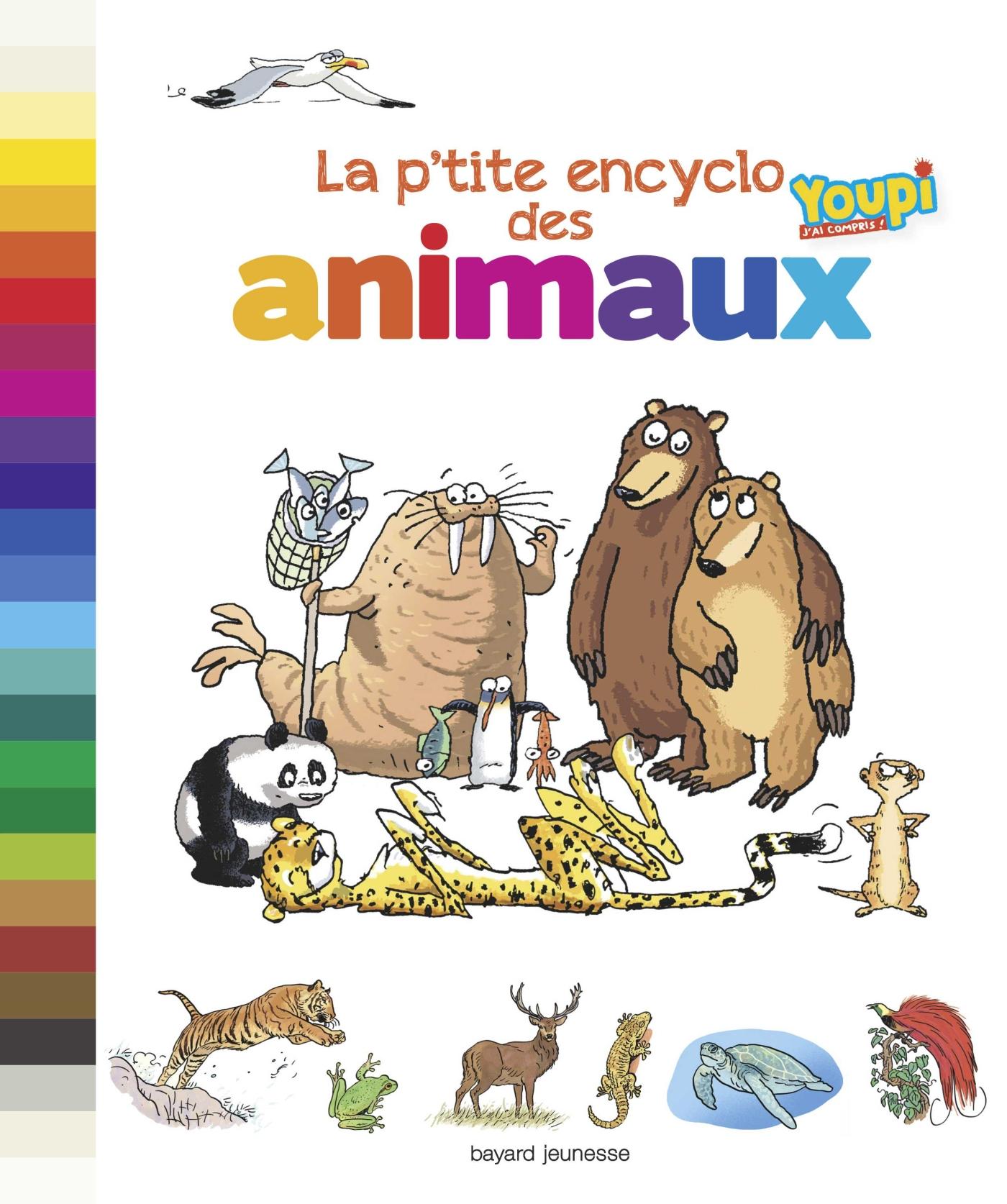 La p'tite encyclo des animaux | Chanut, Emmanuel. Auteur