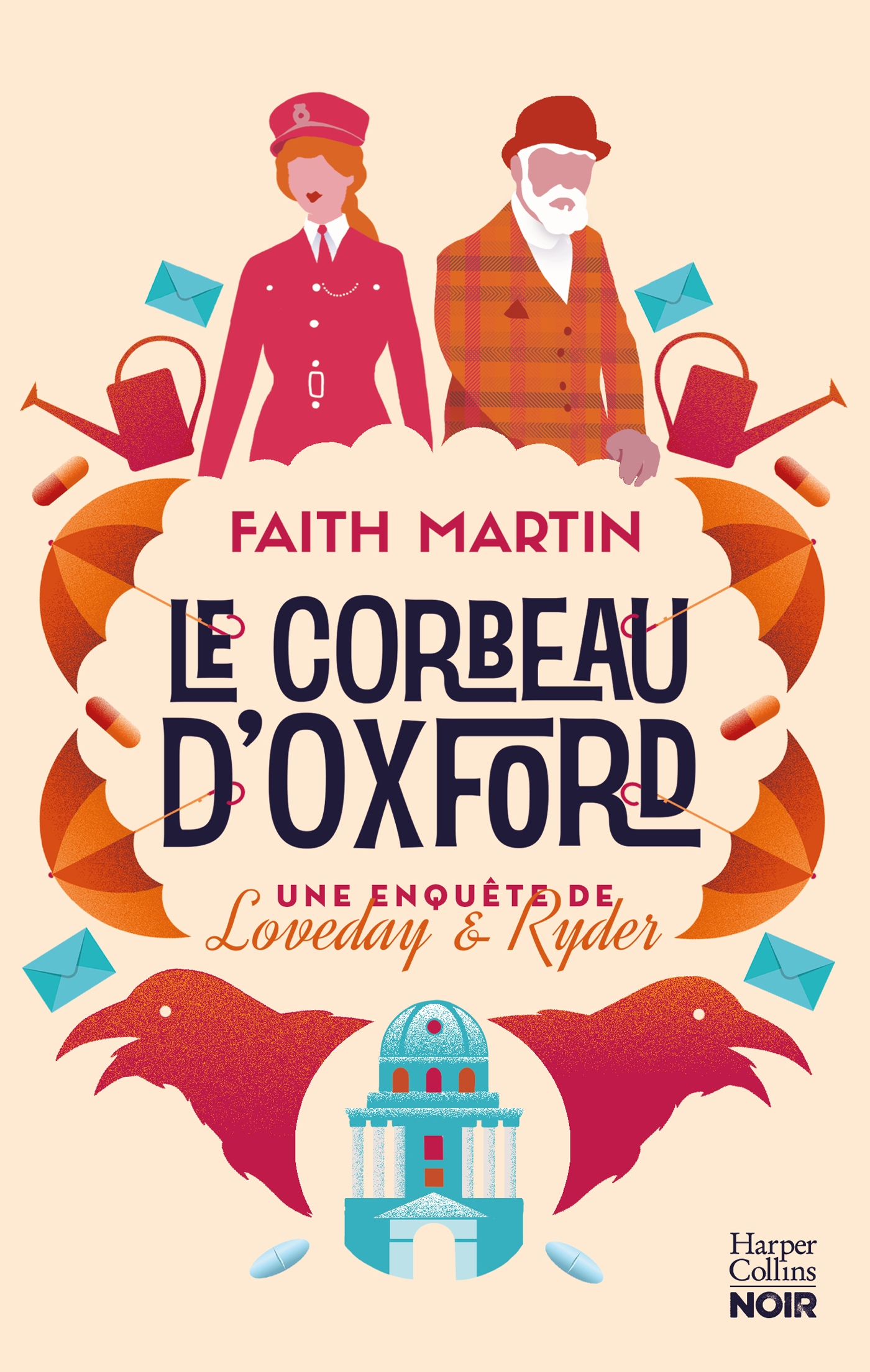 Le corbeau d'Oxford | Martin, Faith. Auteur