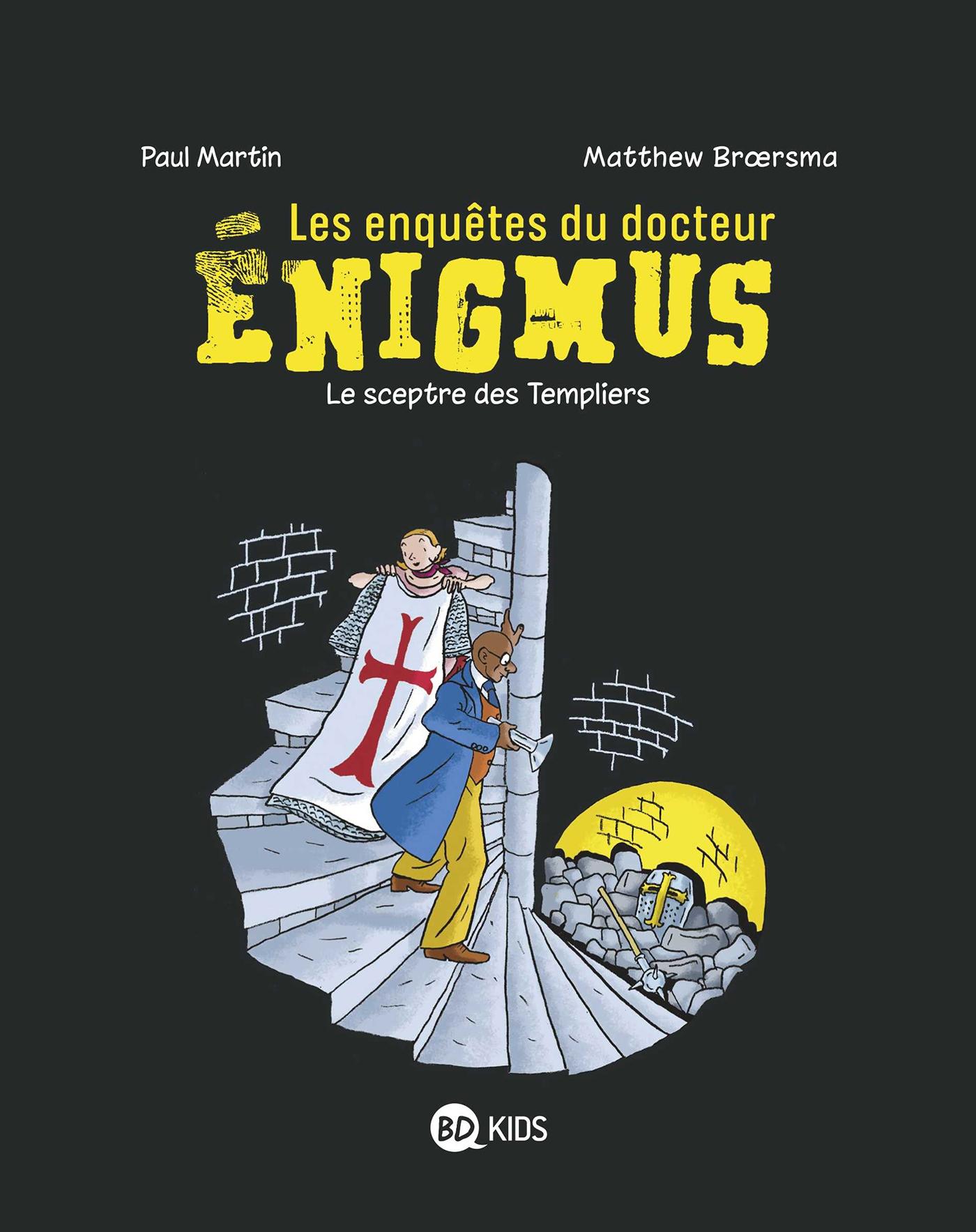 Les enquêtes du docteur Énigmus, Tome 02 |