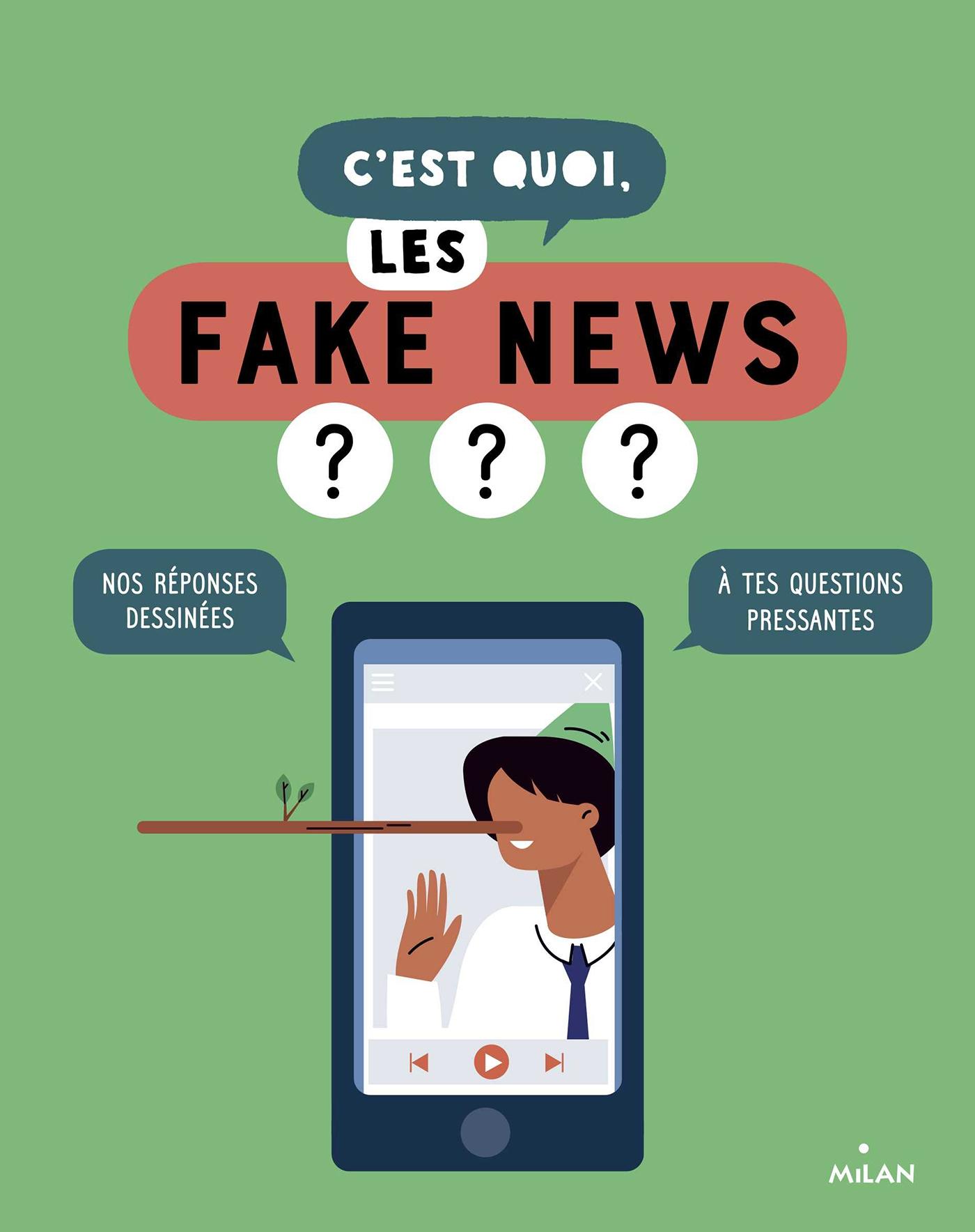 C'est quoi, les fake news? | LABOUCARIE, SANDRA. Auteur