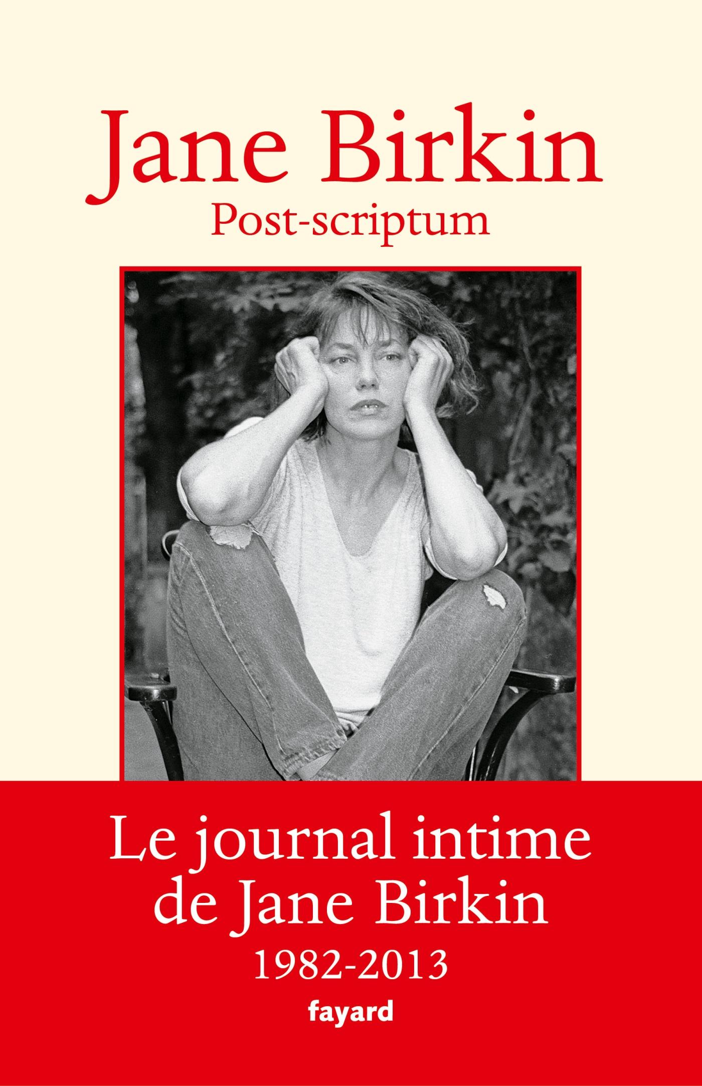Post-scriptum | Birkin, Jane. Auteur