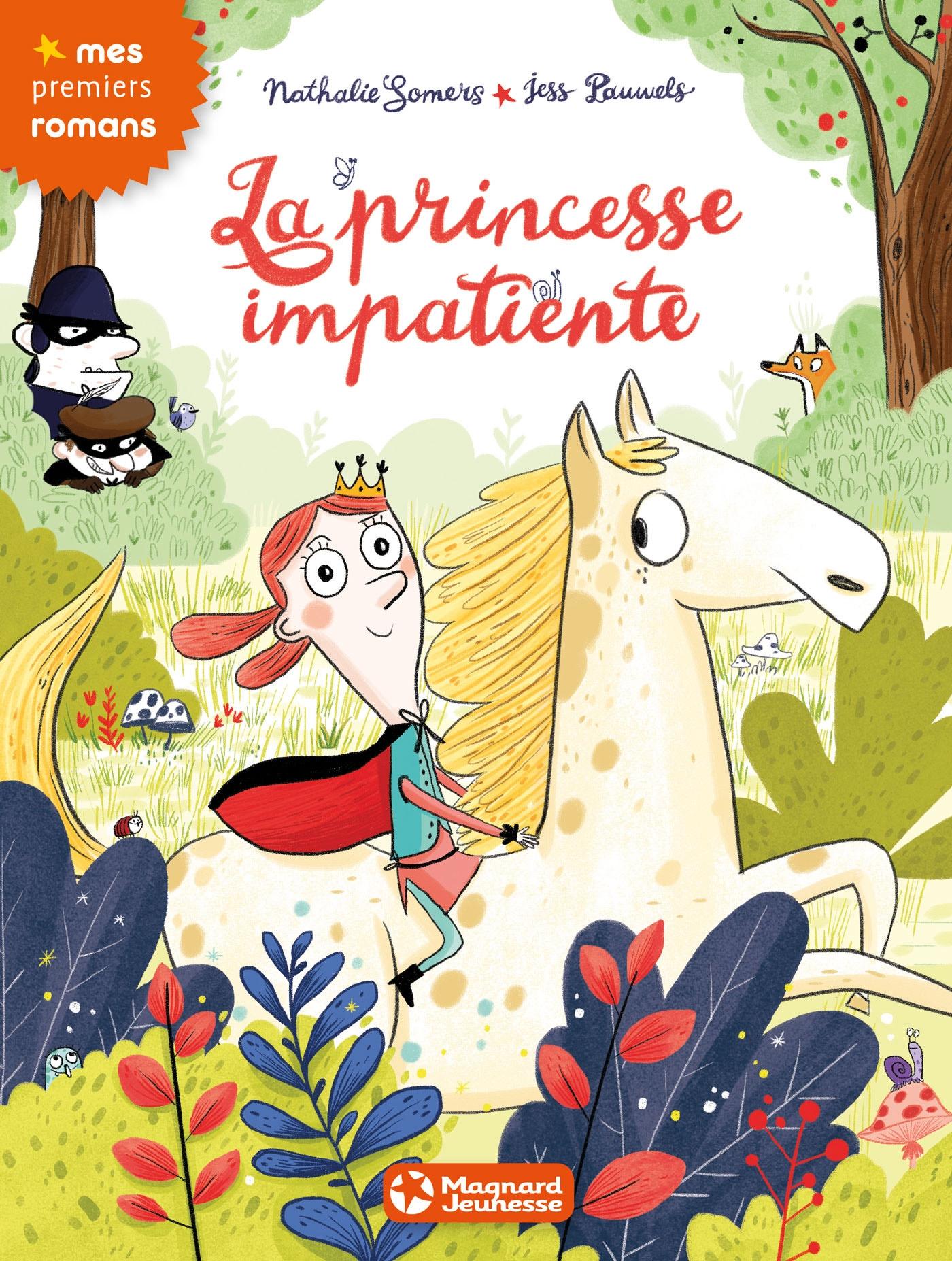 La princesse impatiente | Somers, Nathalie. Auteur