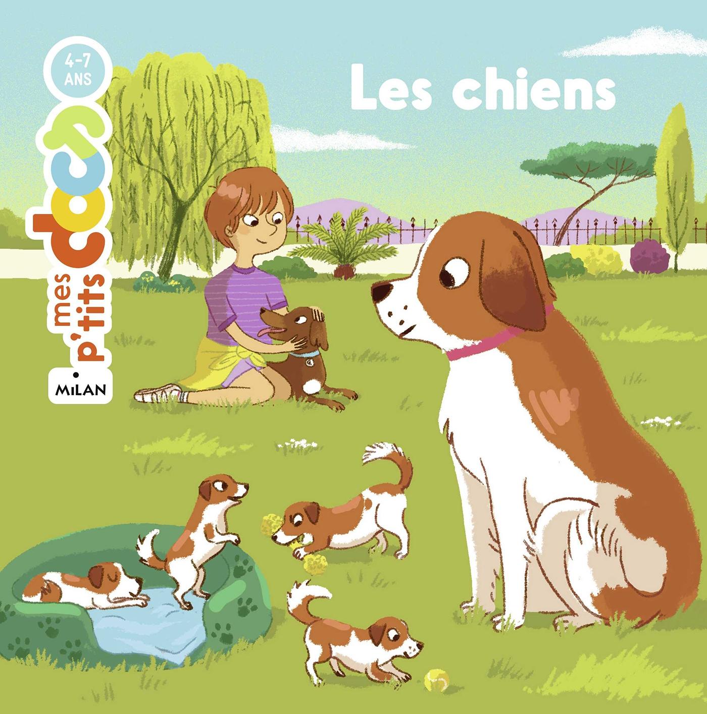 Les chiens | Ledu, Stéphanie. Auteur