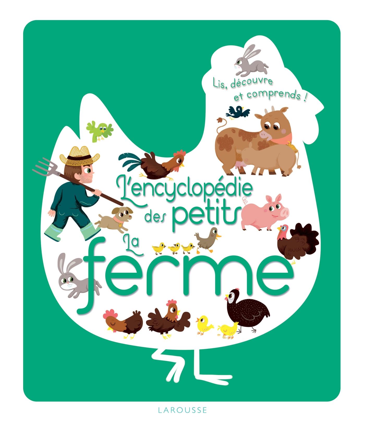 L'encylopédie des petits - La ferme | Jugla, Cécile. Auteur