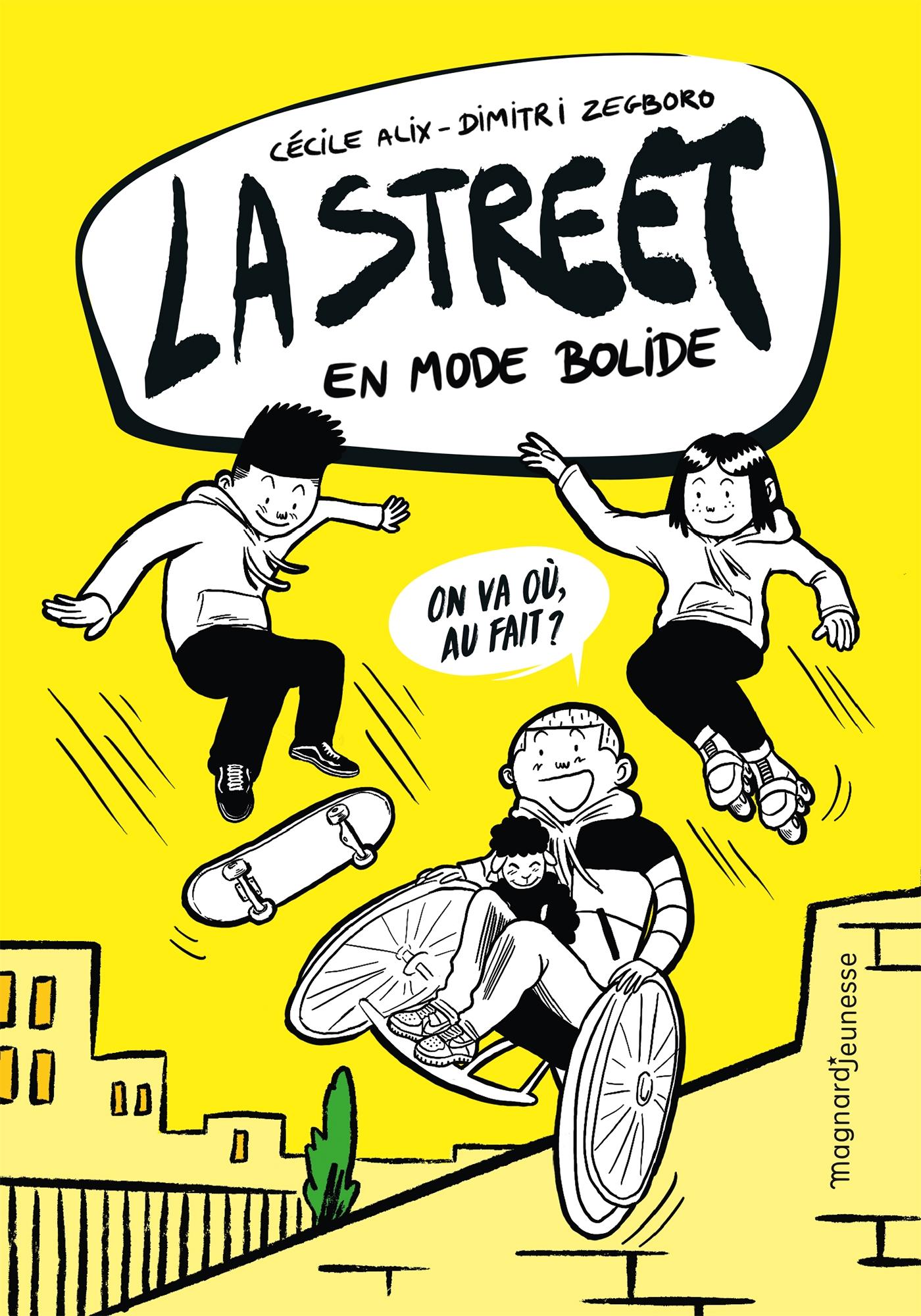 La Street 1 | Alix, Cécile. Auteur